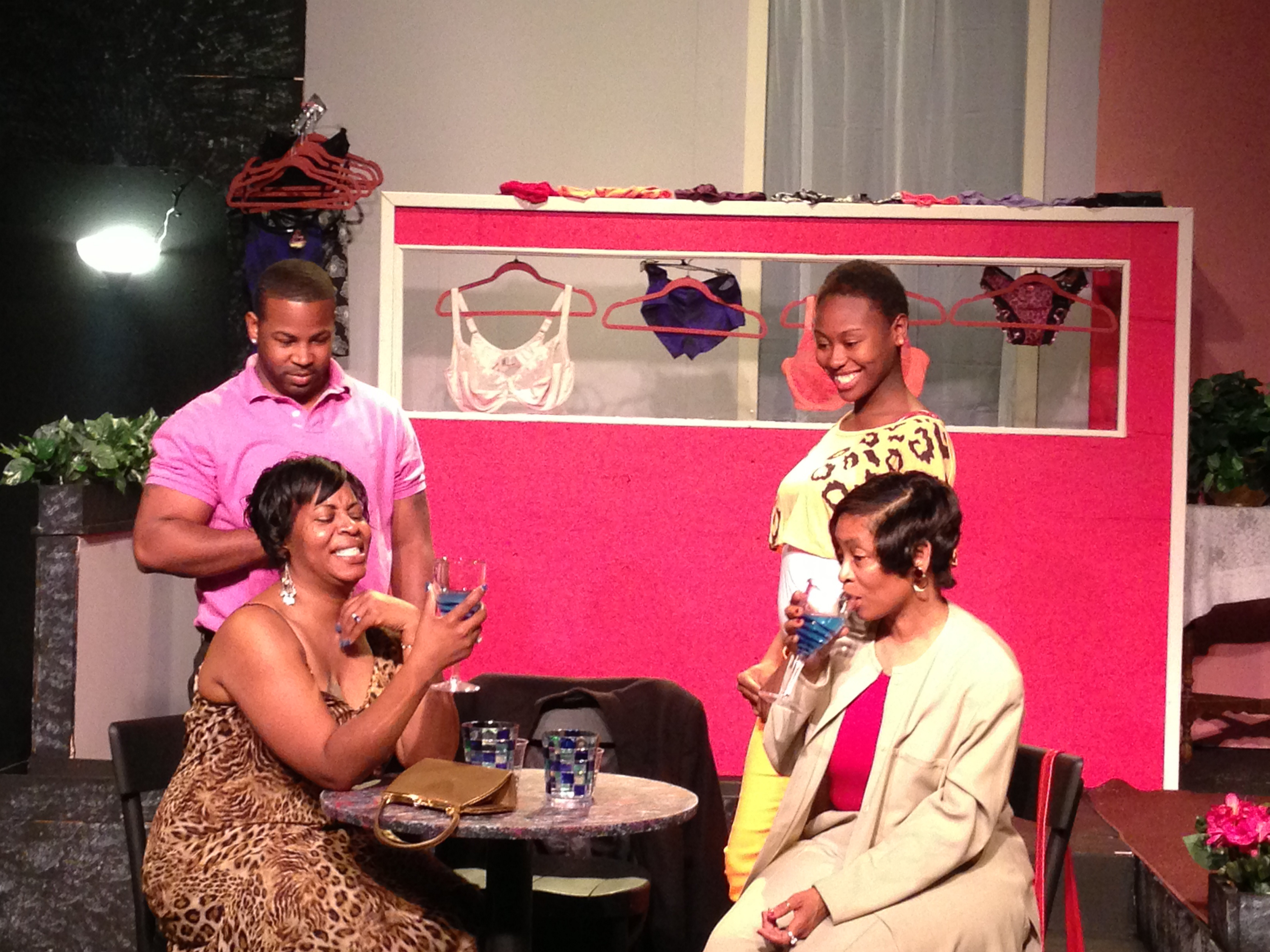 The cast of Paul Robeson Theatre's production of 'Two Weeks Until the Rest of My Life' will perform the show in Washington on July 20 and 21.