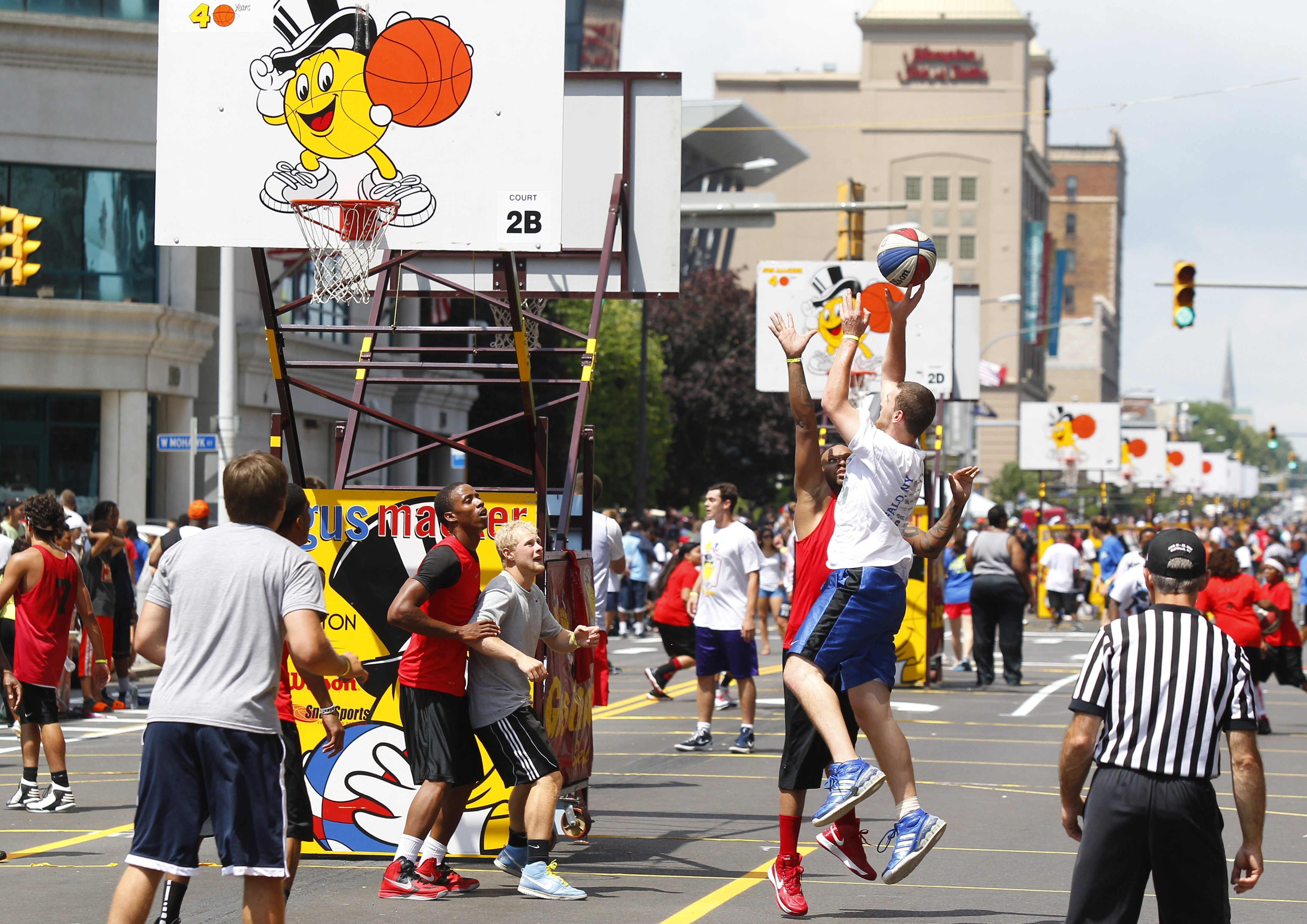 "Friends and family came from Rochester and beyond to watch nearly 3,000 devotees of ""the best sport ever"" practice sportsmanship and their best moves at the Macker Tournament on Delaware Avenue."