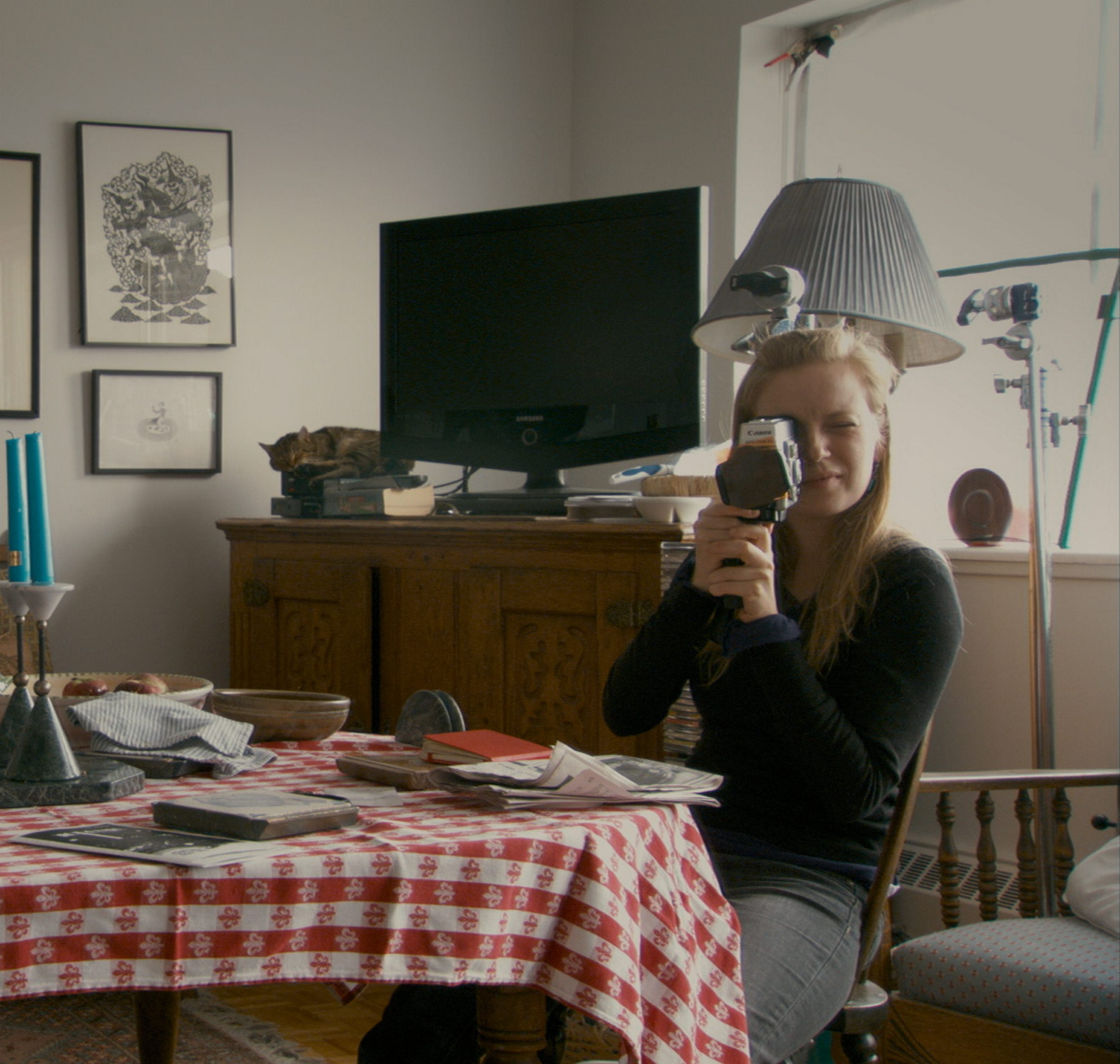 "Actress and director Sarah Polley uses simulated home moves in ""Stories We Tell."""