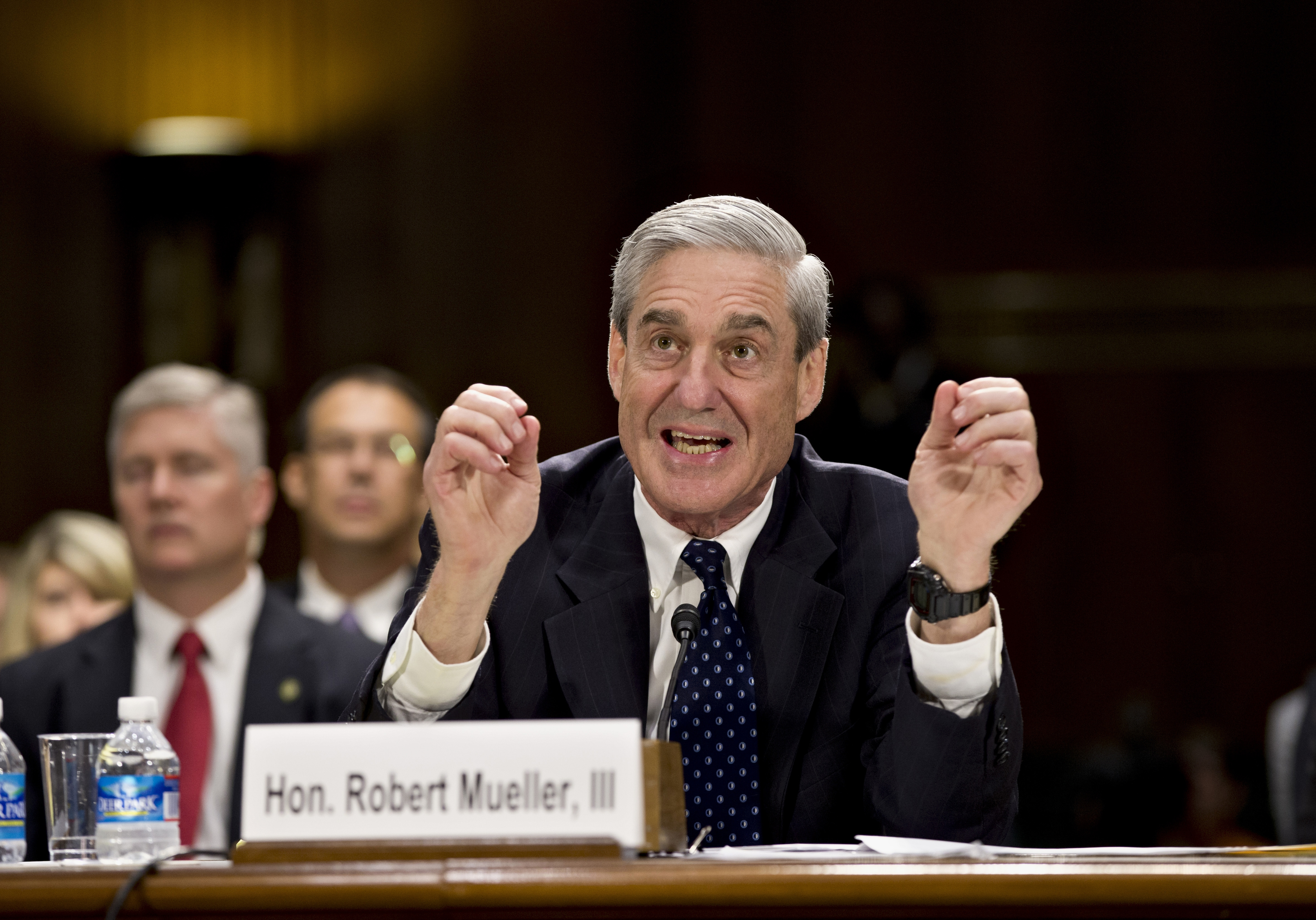 FBI Director Robert Mueller revealed to Congress this week that the FBI has used drones for domestic surveillance. Associated Press)