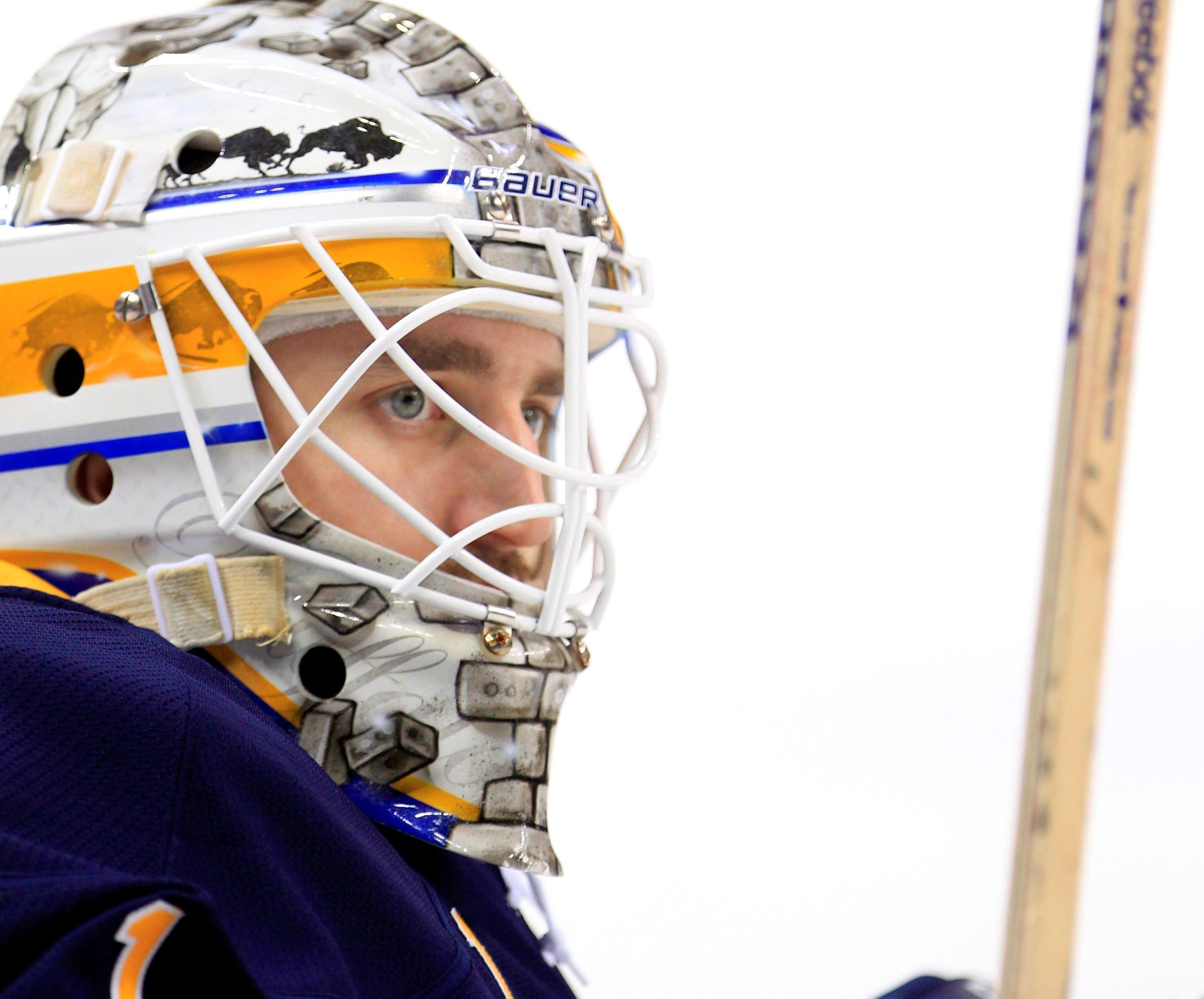 Jhonas Enroth has signed a two-year contract with the Sabres. (Buffalo News file photo)