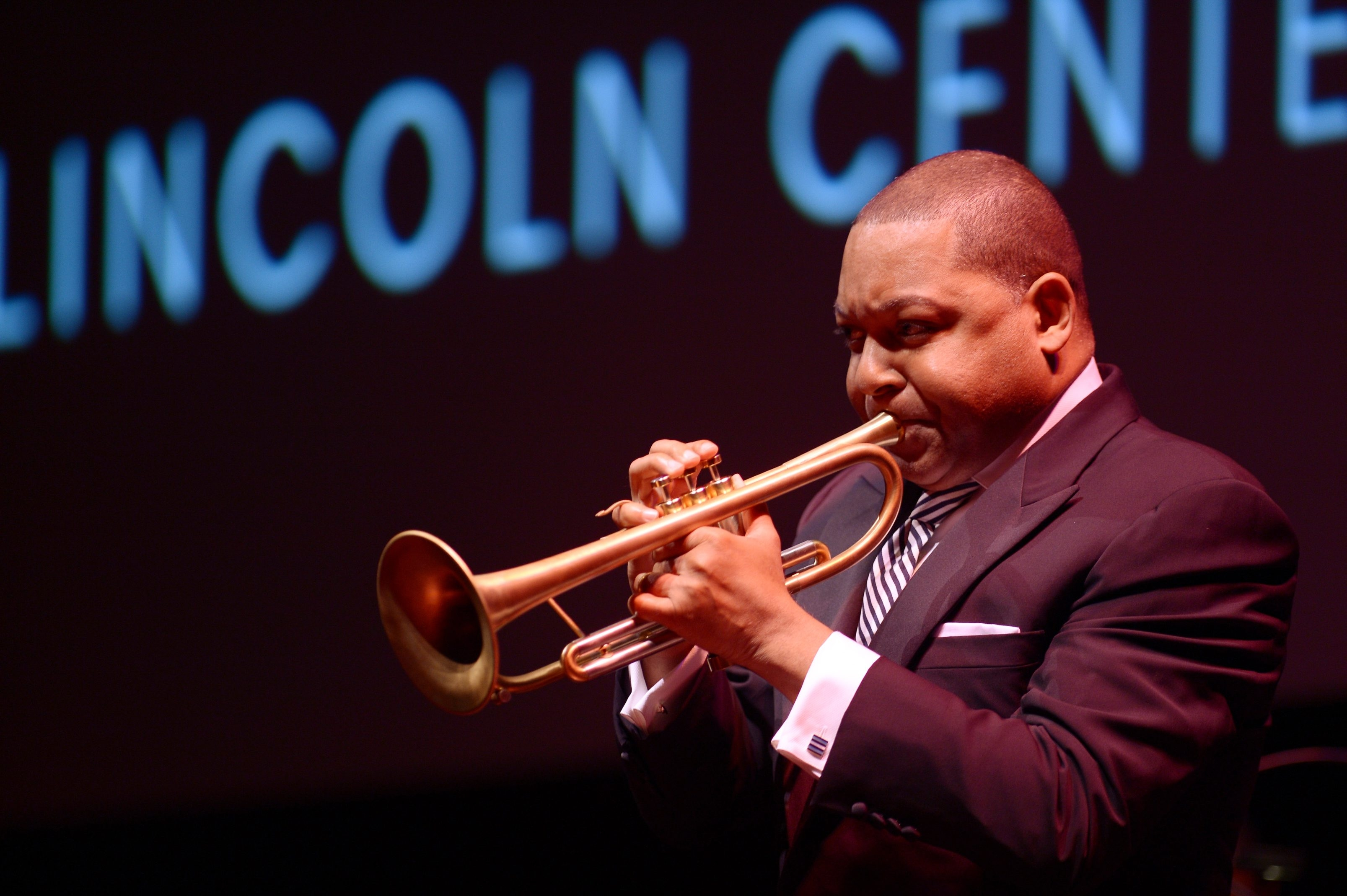 Getty Images  Wynton Marsalis performs Monday at Artpark.