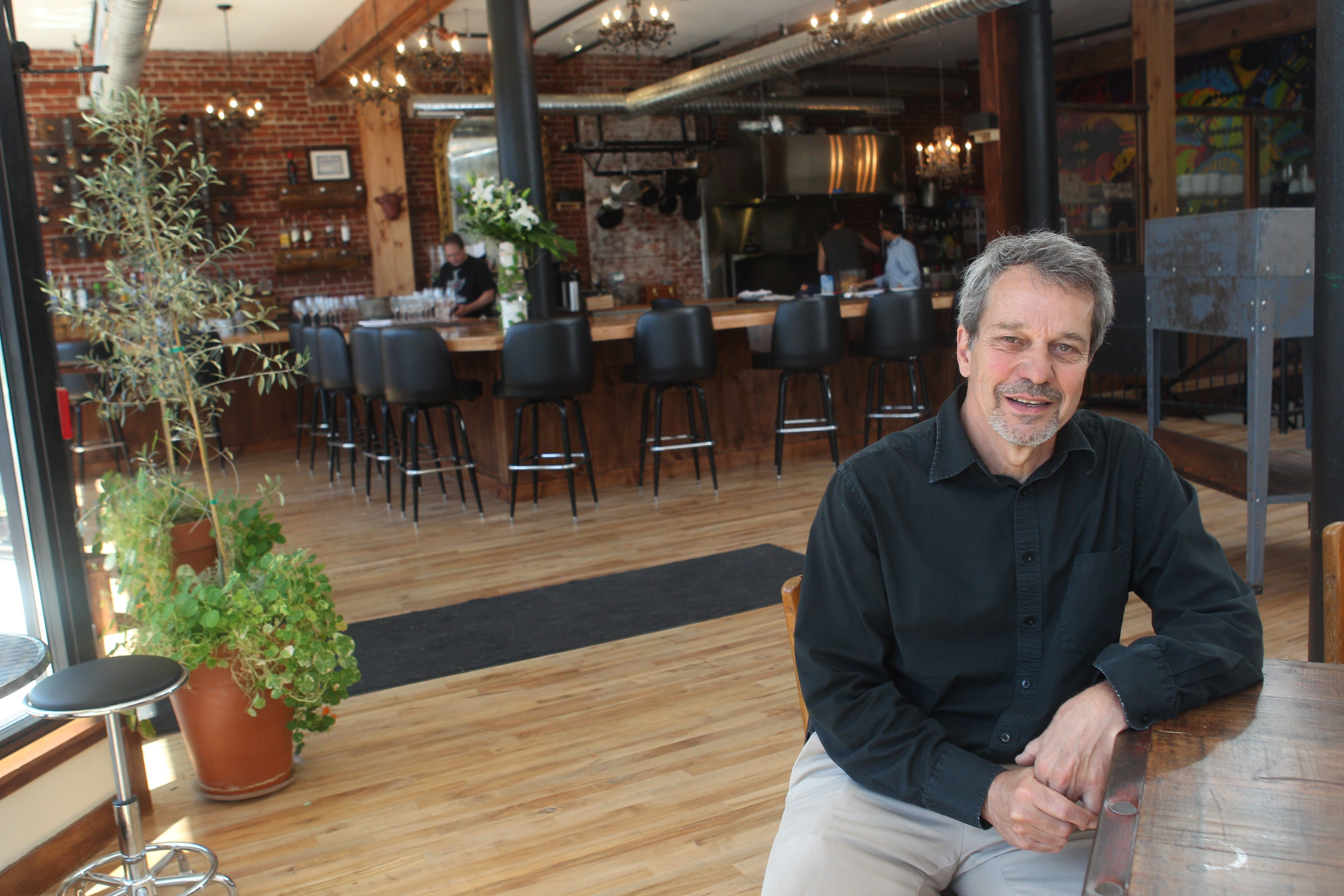 Developer Karl Frizlen bought the building that now houses Horsefeathers Market & Residences in May 2012.