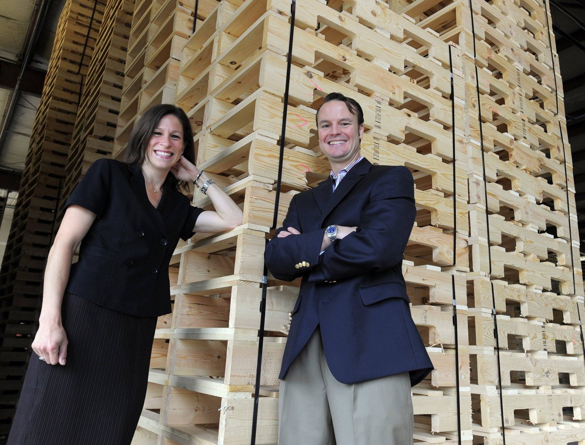 Annette and Shawn Walter took a leave from professional jobs to buy a 75-year-old pallet distribution business called Timber Industries, which they say better fits their lifestyle.