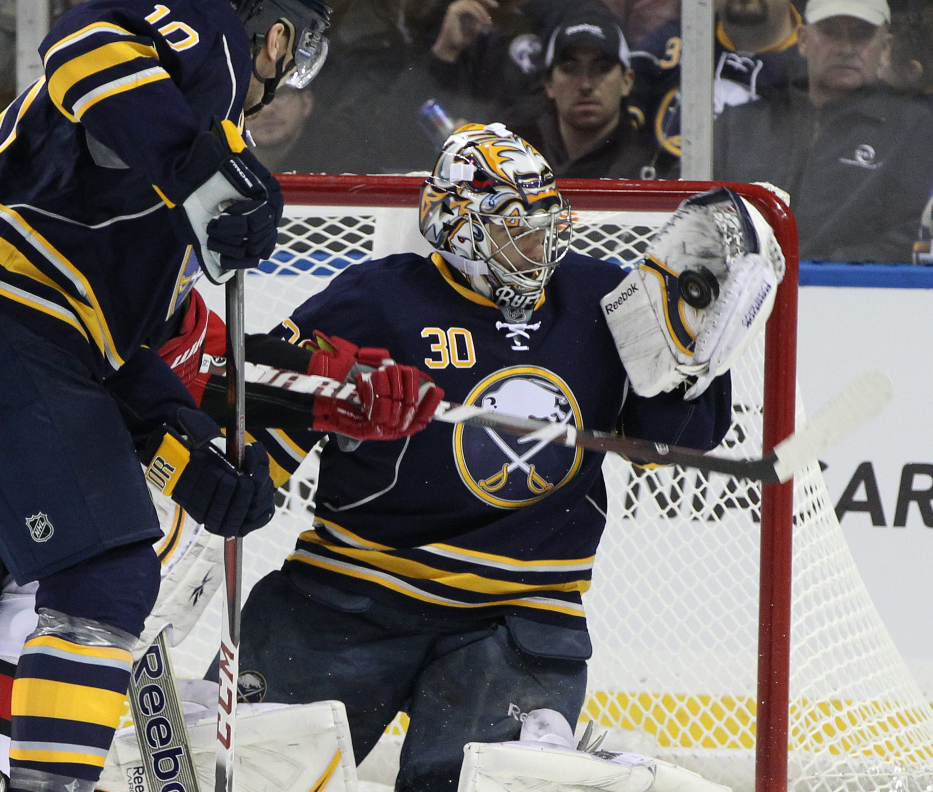 The Sabres might have to look at dealing veteran goaltender Ryan Miller to get a higher pick.