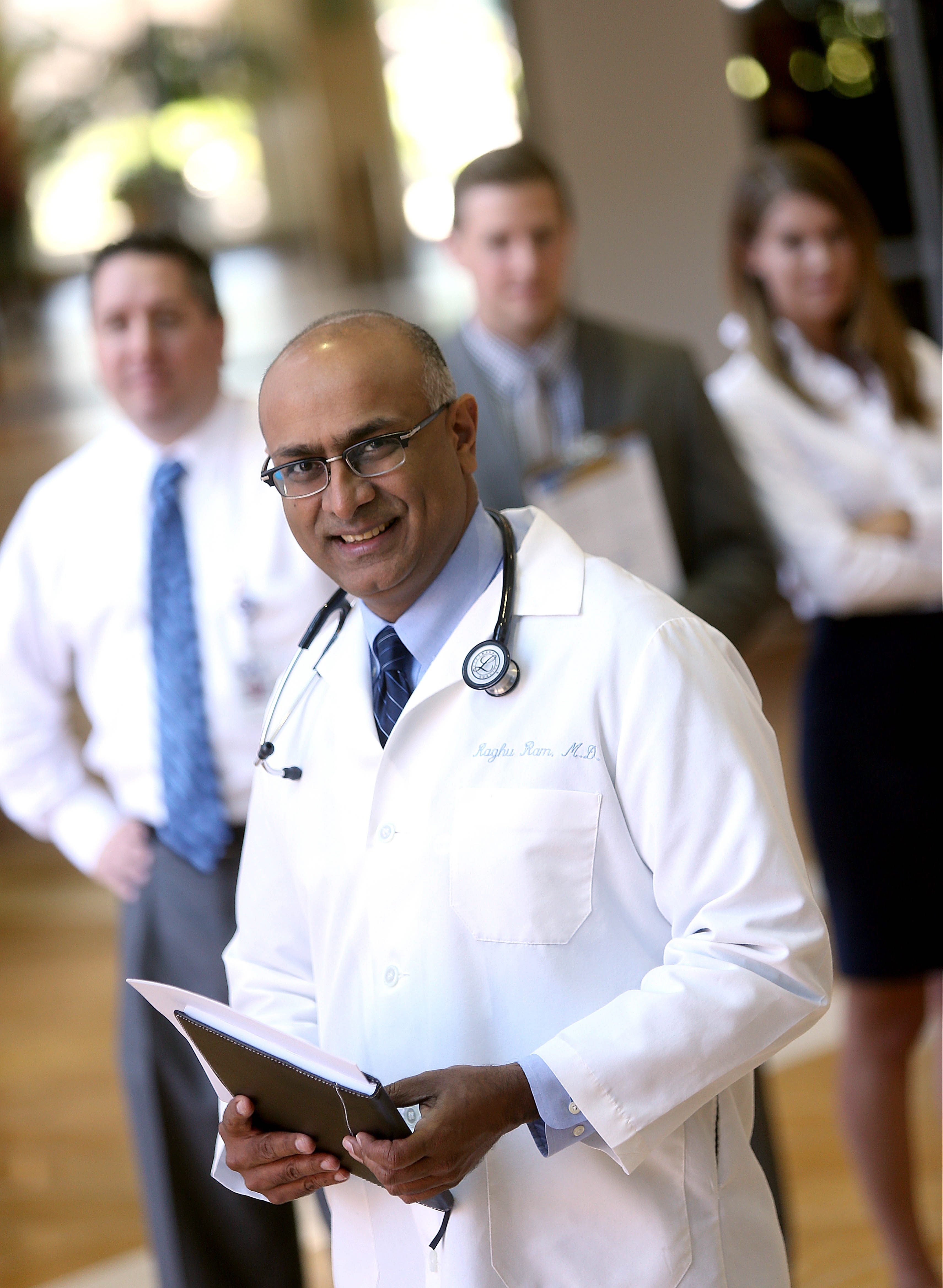 Dr. Raghu Ram, chief medical officer of BlueCross BlueShield of WNY, is no stranger to offering patients a specialist referral.