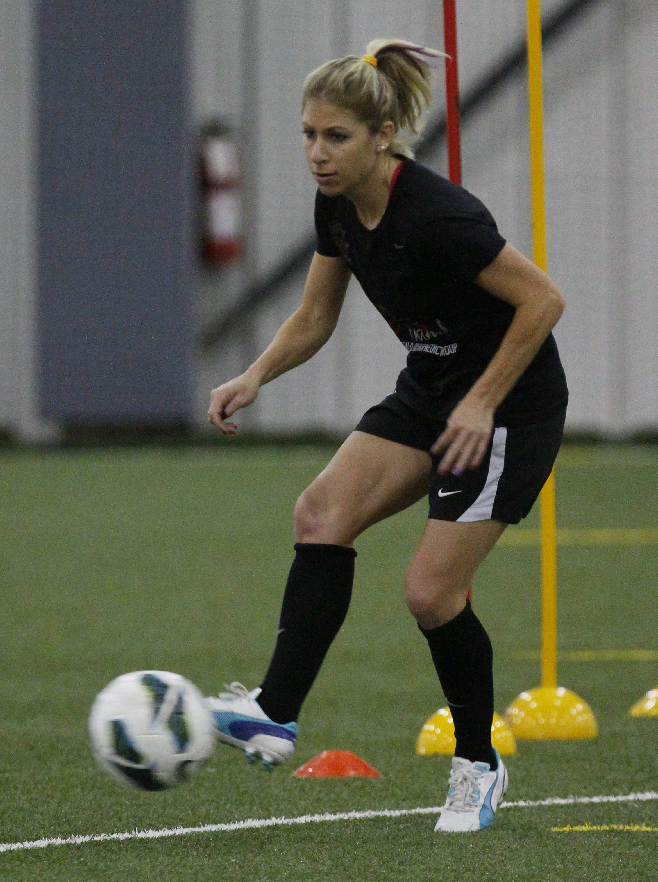 Midfielder McCall Zerboni and the Flash have won four of their last five games.