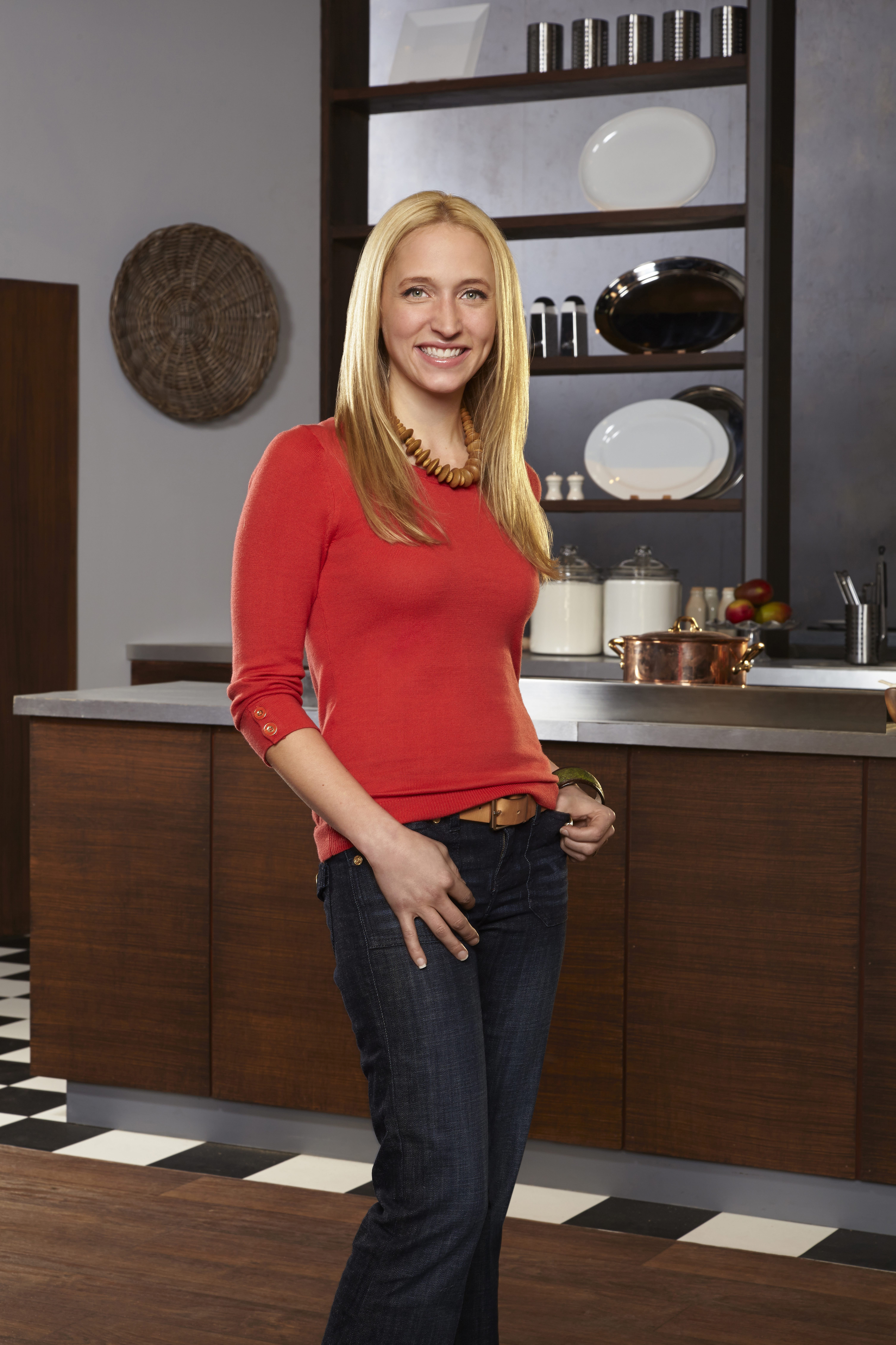 "Nikki Dinki  is competing on the Food Network's ""Food Network Star"" contest."