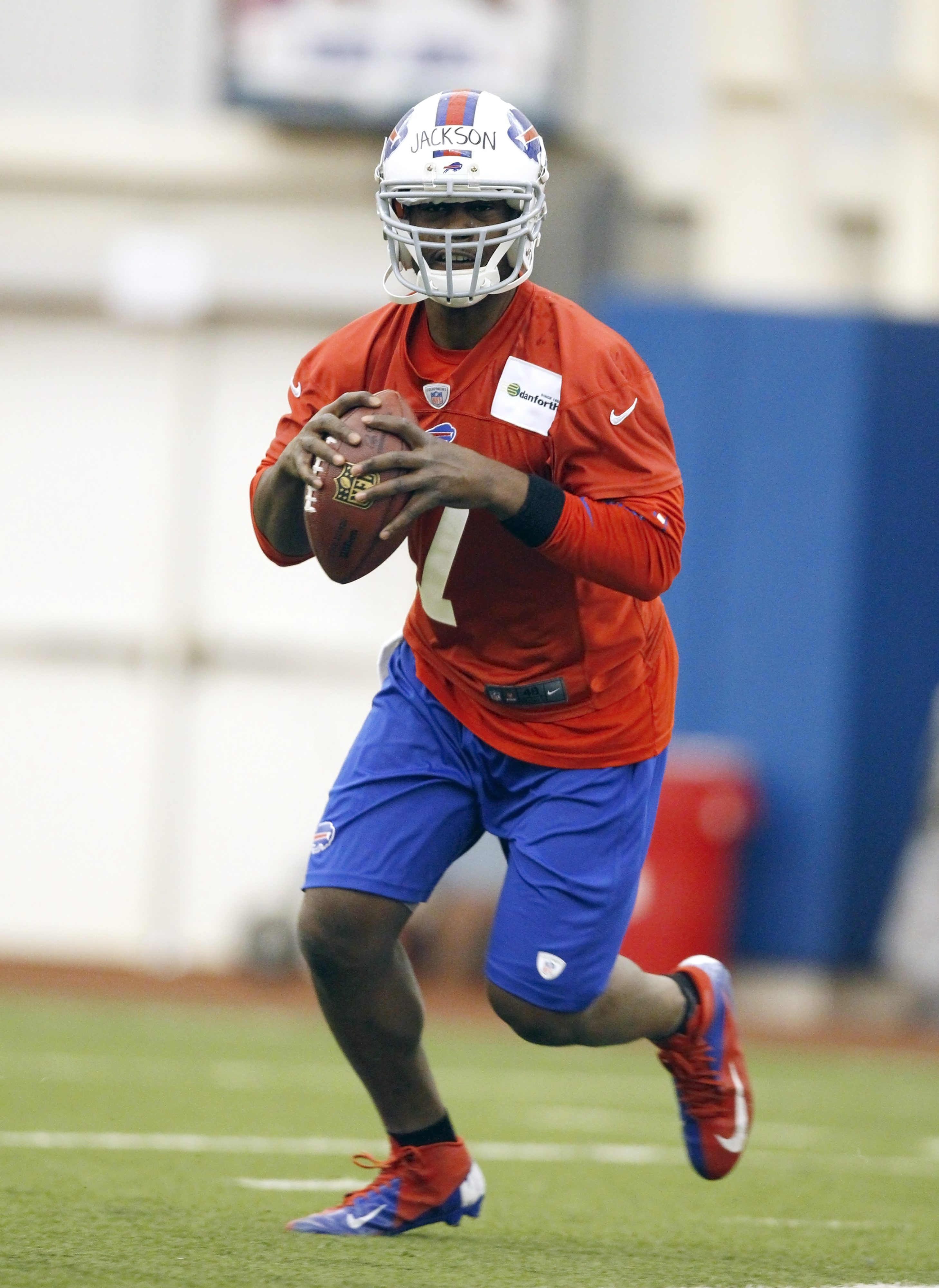 Tarvaris Jackson is 17-17 as a starter but didn't play any regular-season games as a Bill.
