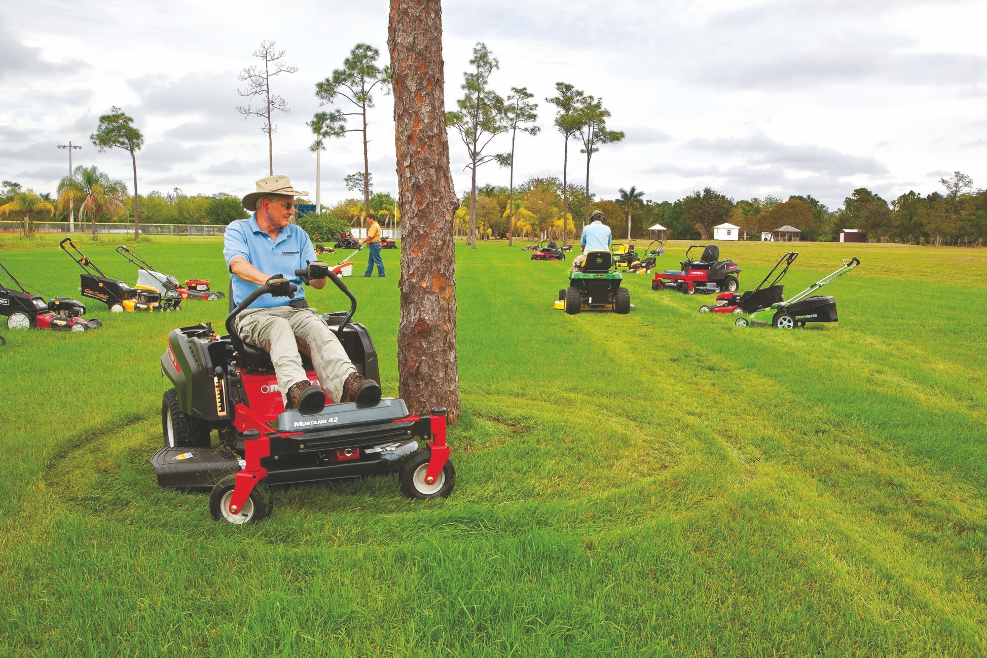 Troy-Bilt's zero-turn-radius mowers earned high marks from Consumer Reports.
