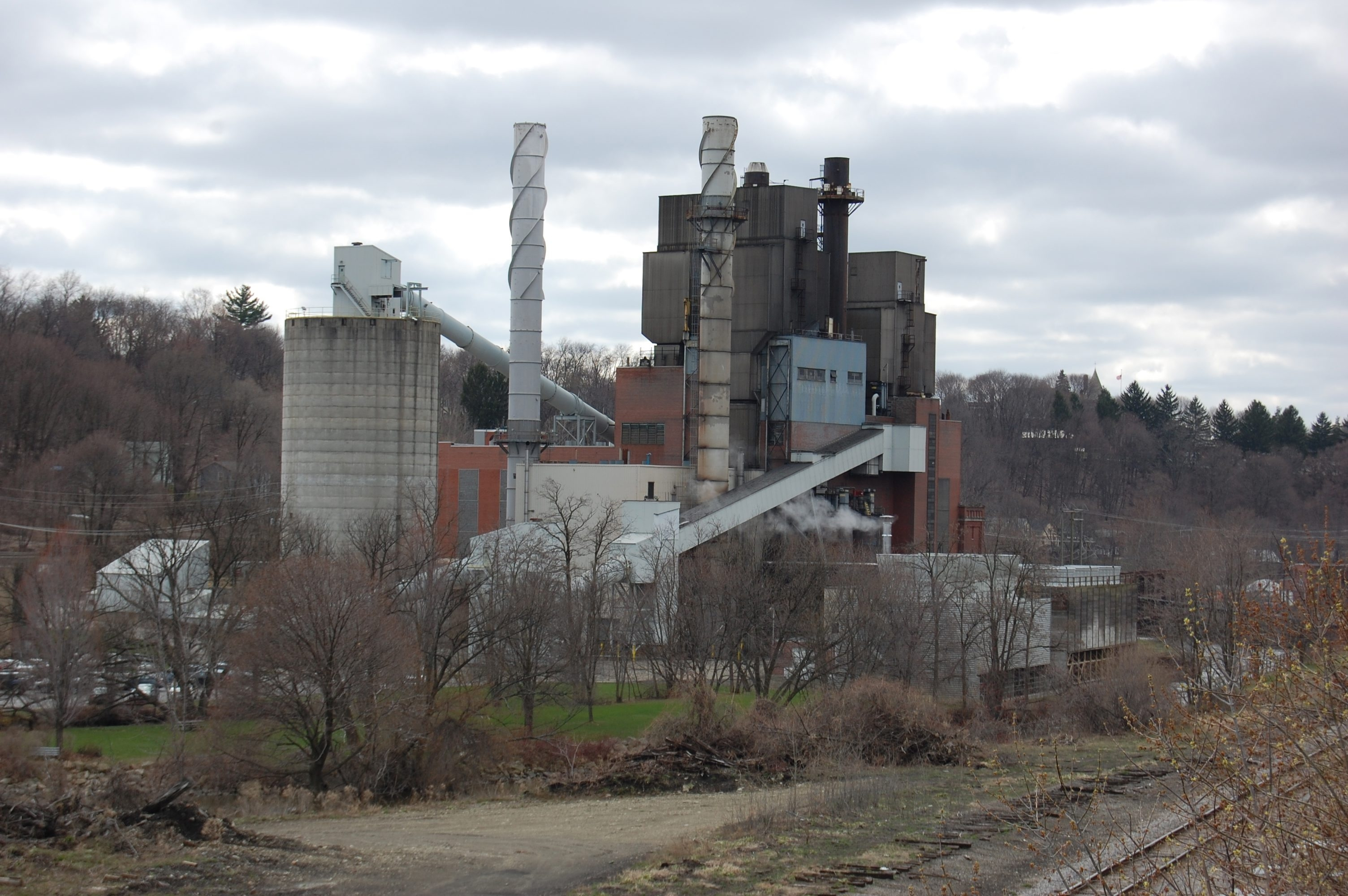 Jamestown's 62-year-old Samuel Carlson coal-fired power plant has reached the end of its operational life. Activists argued there was no need to replace it.