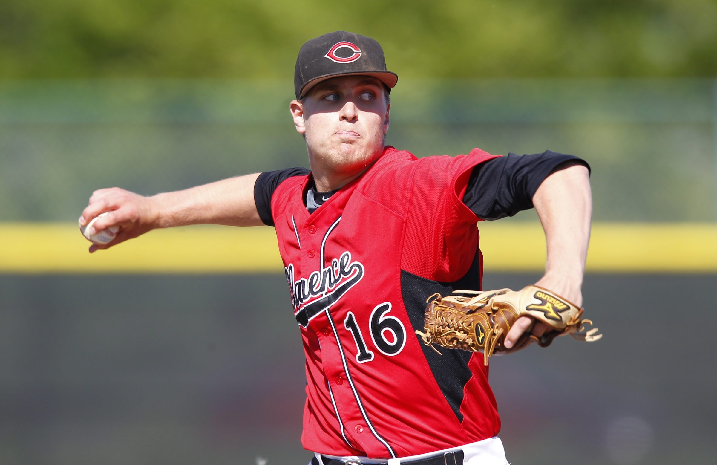 Mark Armstrong will likely be selected today or Friday in the Major League Baseball draft.