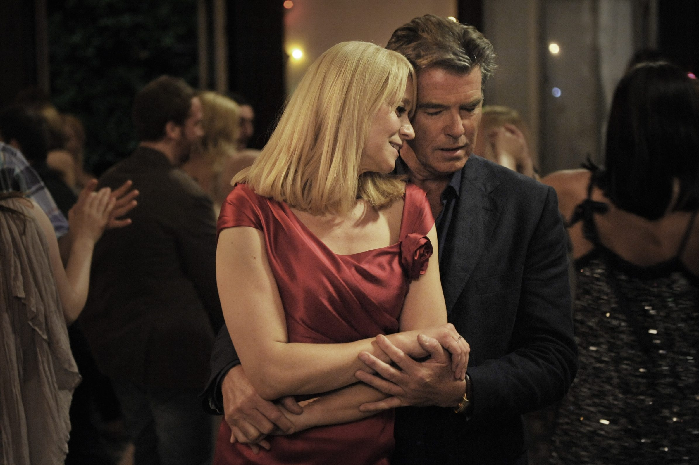 Pierce Brosnan and Trine Dyrholm star in 'Love Is All You Need.'