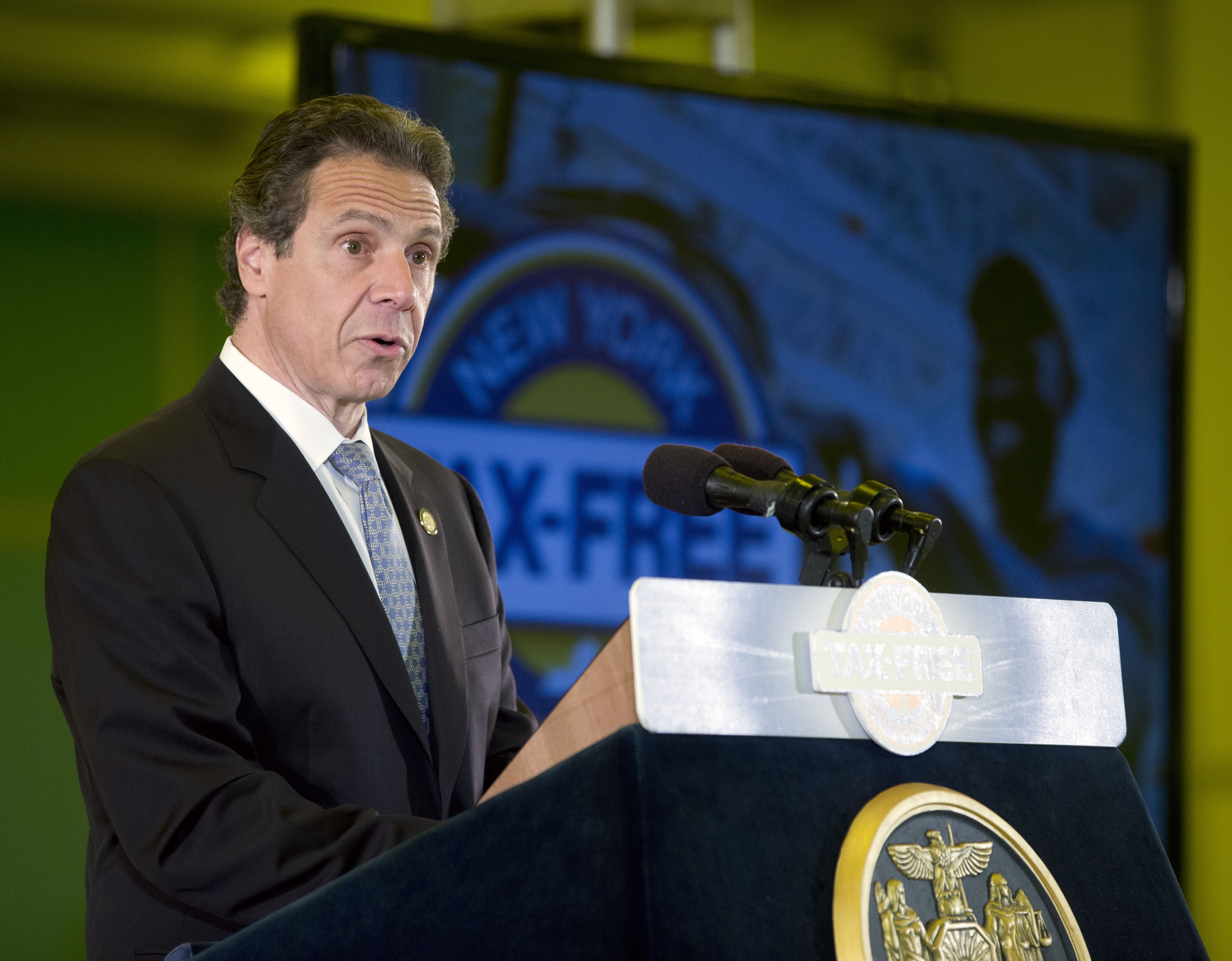 New York Gov. Andrew Cuomo on Wednesday proposed three new gambling sites in Western New York.