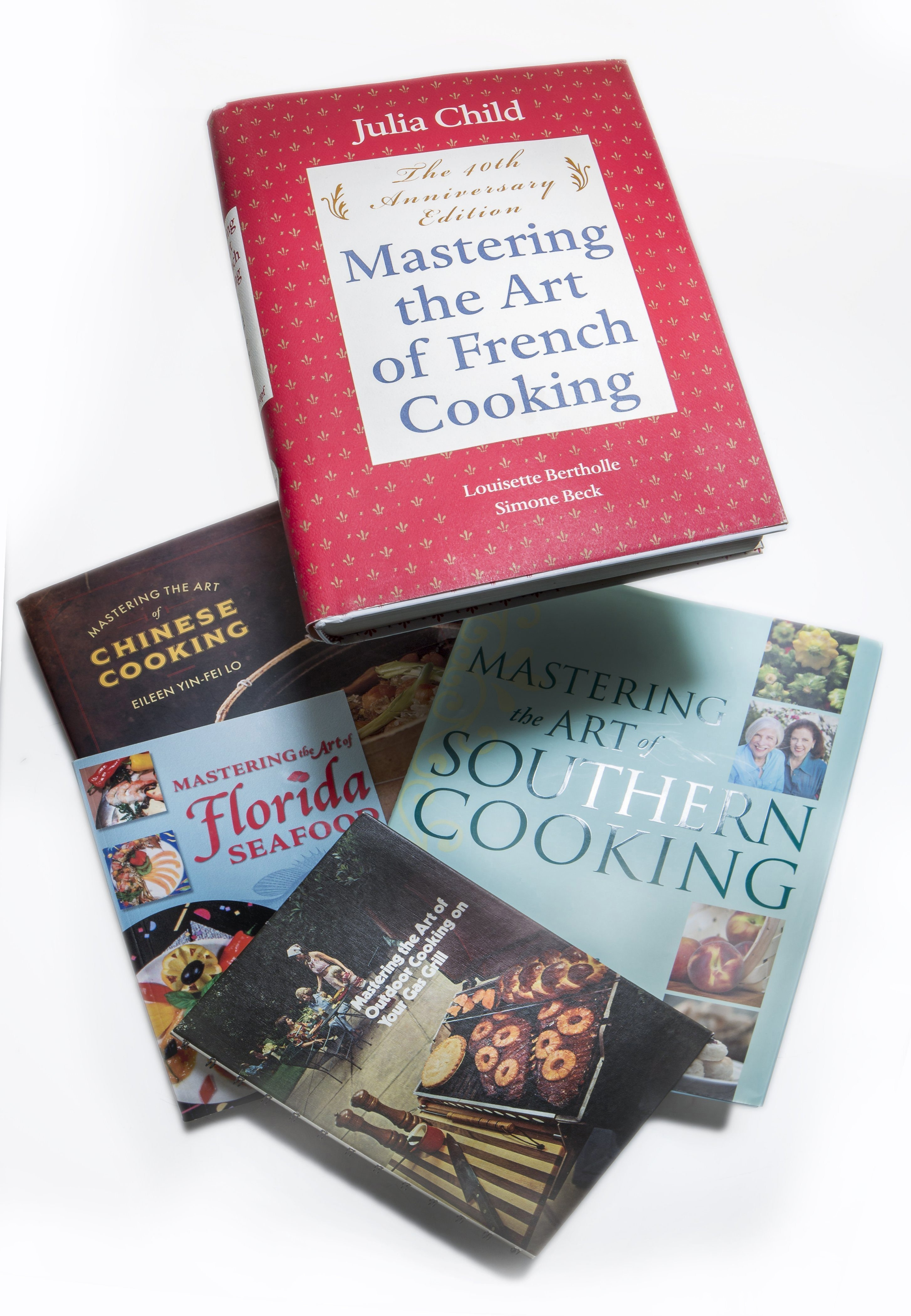 "It's been about 50 years since Julia Child's ""Mastering the Art of French Cooking' came out and only now are other authors feeling comfortbale about using 'Master the art of' in their cookbook titles. (Bill Hogan/Chicago Tribune/MCT)"