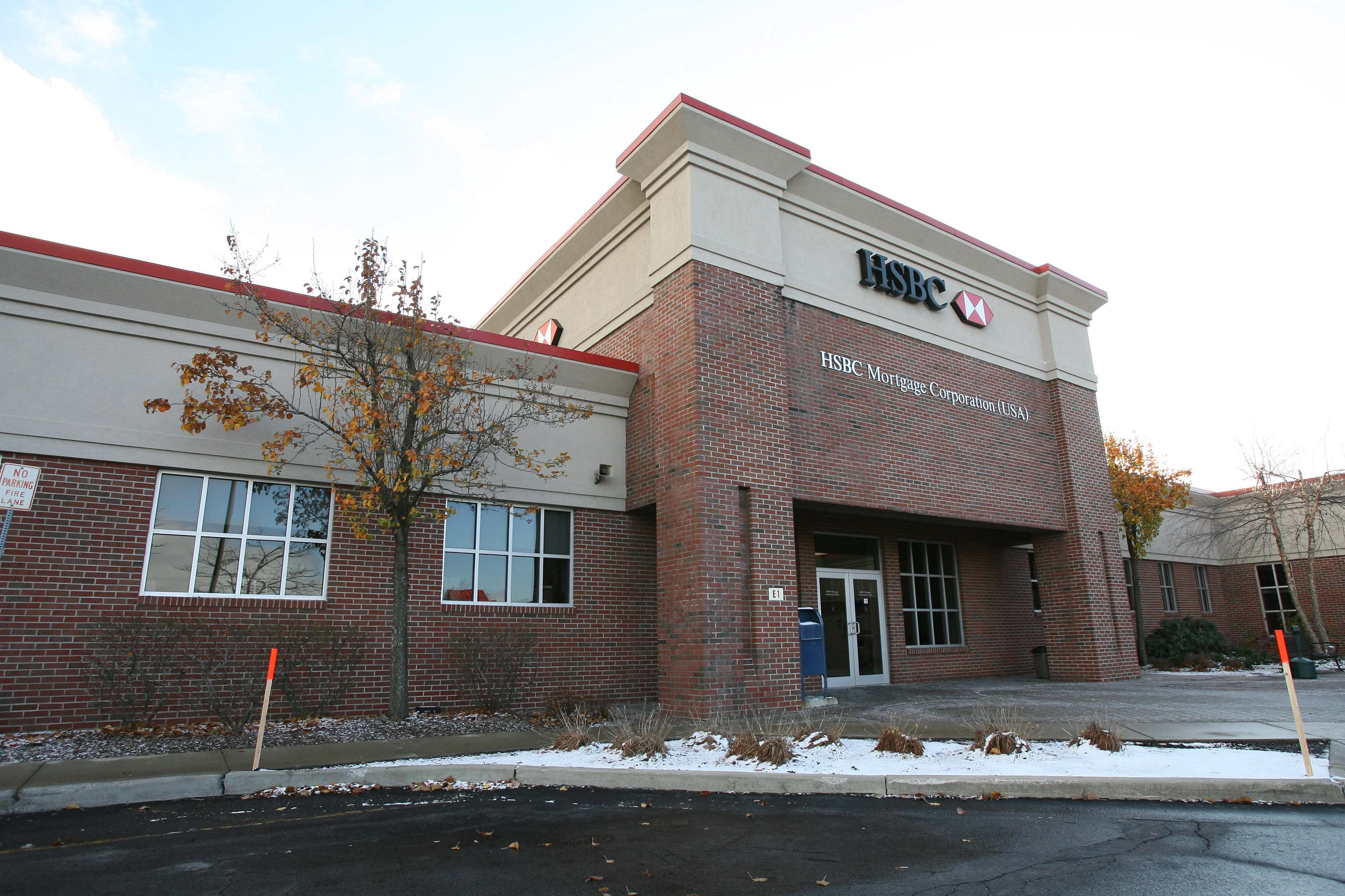 HSBC's mortgage operations center at Walden Avenue and Dick Road in Depew. (Buffalo News file photo)