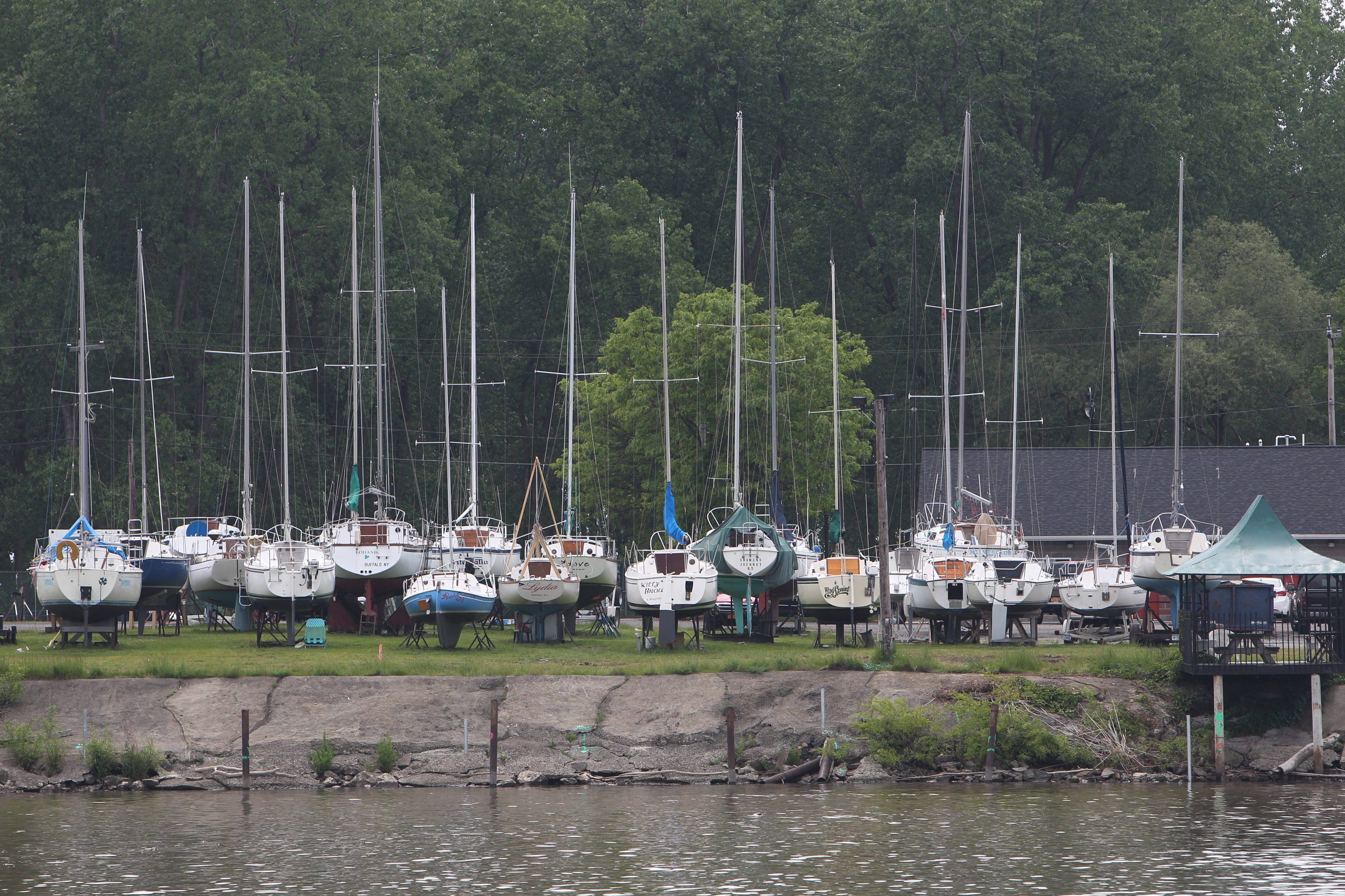 A project to replace docks at the First Buffalo River Marina has been delayed, keeping some anxious boaters from setting sail. The boaters had been told the makeover at the marina, which is owned by the New York Power Authority, would be completed by mid-May.