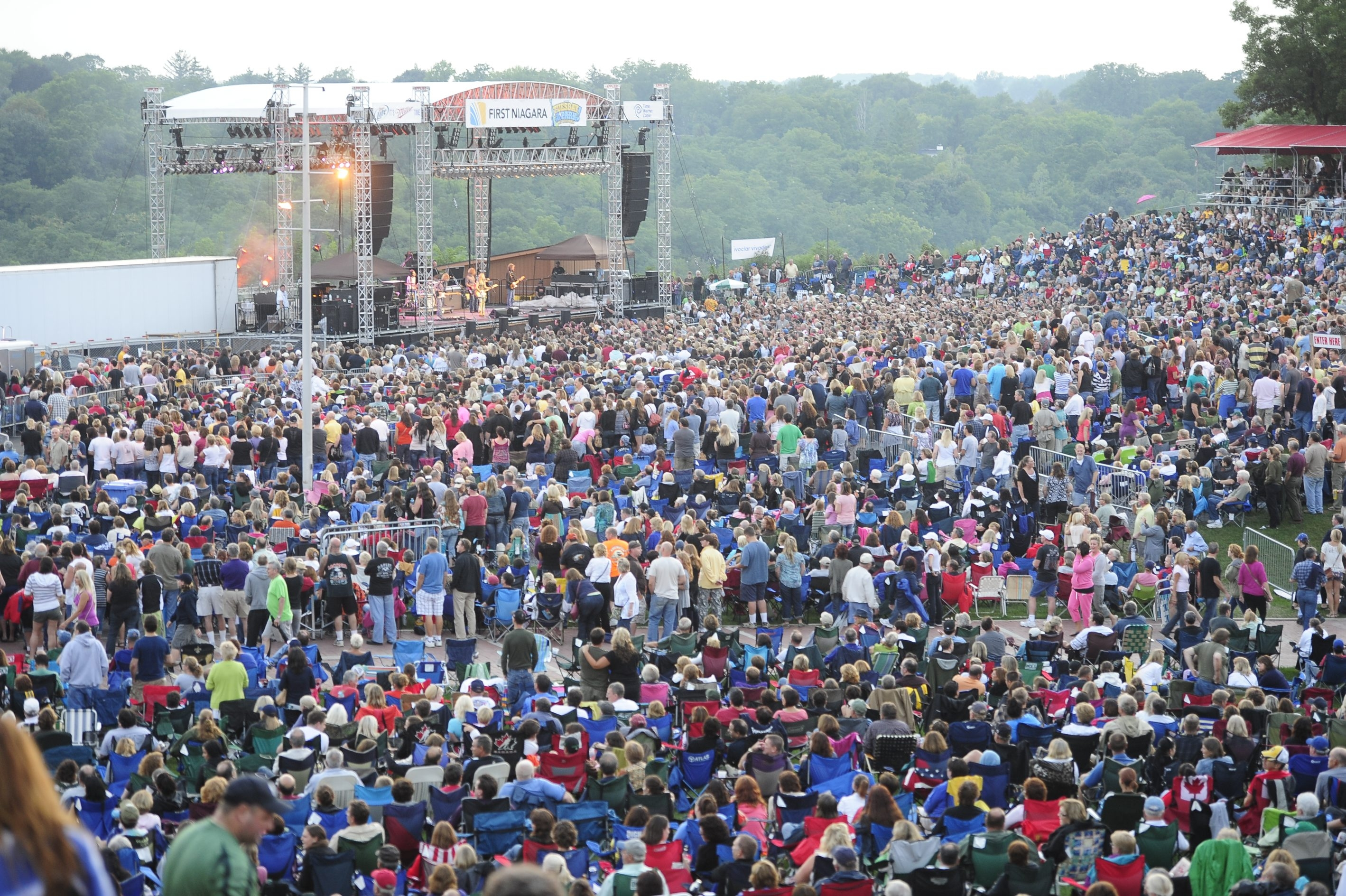 A huge crowd flocked to Artpark in Lewiston for Sheryl Crow's show Aug. 14 of last year.  This year marks the 14th season of concerts at the venue, which has focused on attracting more people by boosting the caliber of the performers who come.