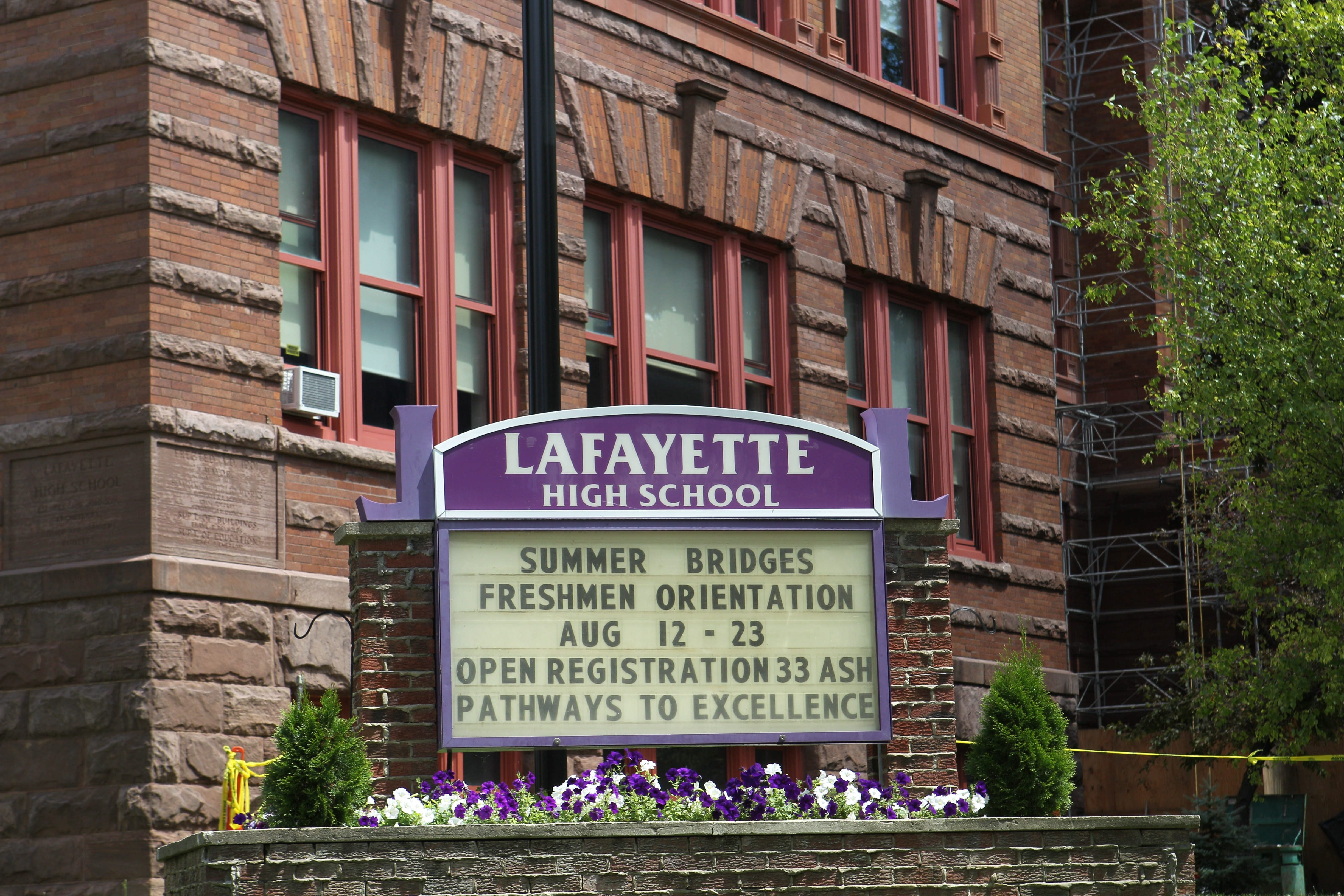 Nearly half of Lafayette High School's senior class needs help with the English language, and teachers are not properly prepared to deliver that help. (Sharon Cantillon/Buffalo News)