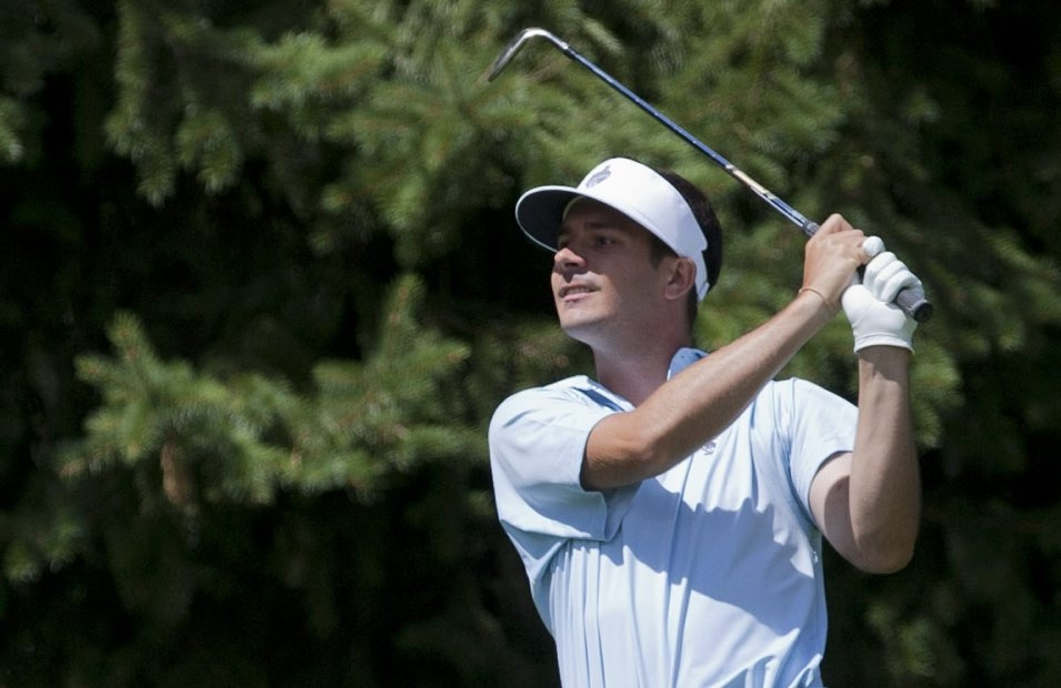 Patrick Sheedy Jr. is one of eight local players in this year's Porter Cup. Sheedy shot a 6-over 76 on Wednesday.