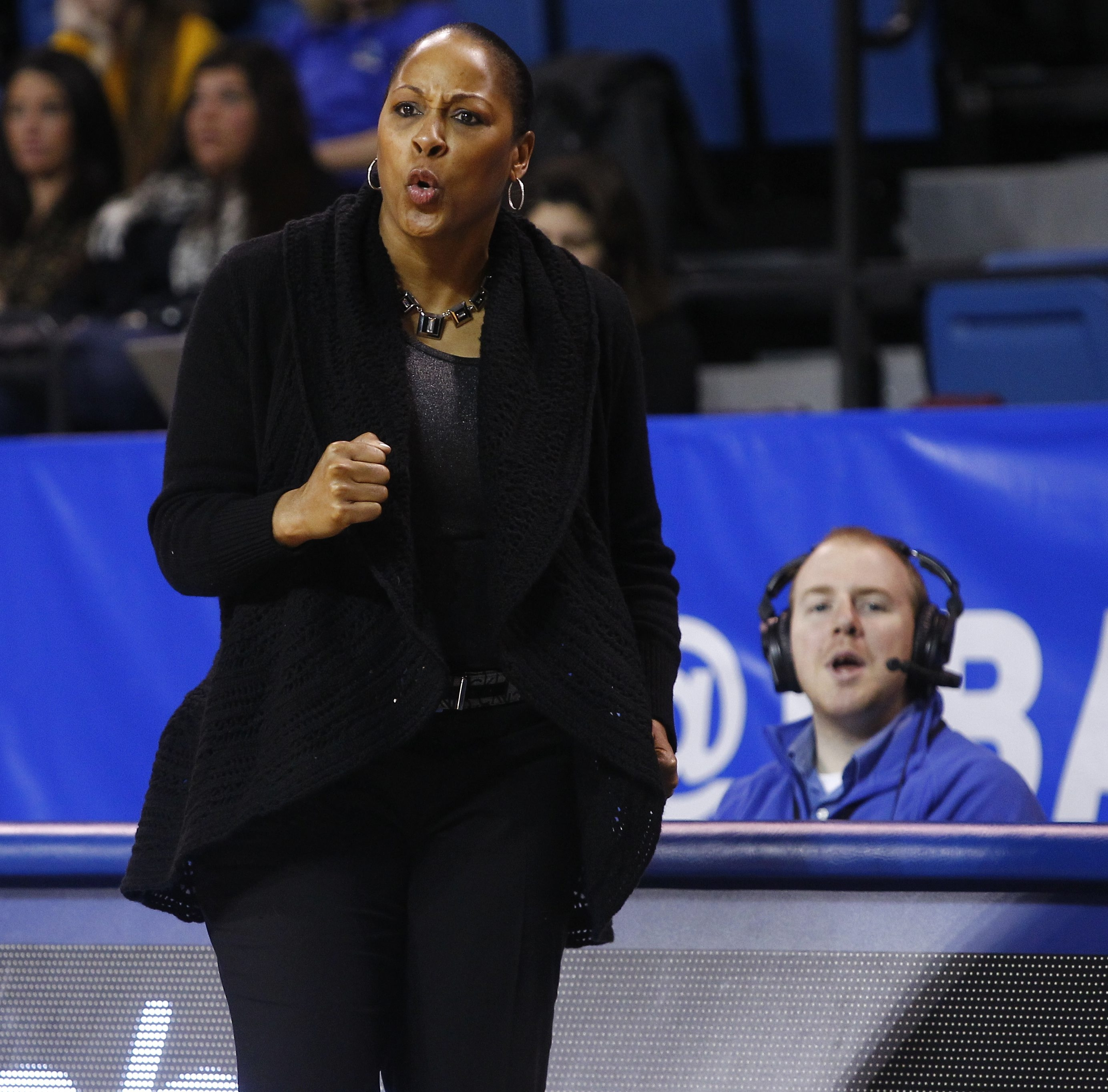 "UB coach Felisha Legette-Jack said the rule change ""can be really exciting."""