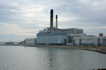 Upgrading the Dunkirk power plant from coal to natural gas will cut carbon emissions in half.