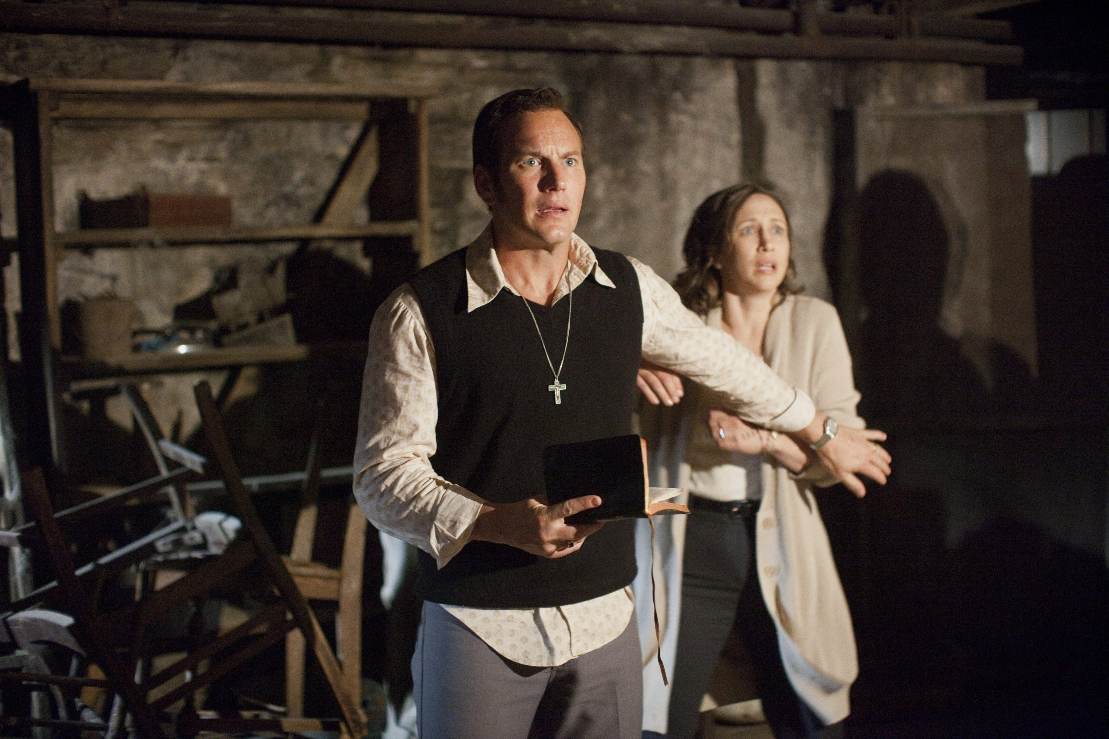 "Patrick Wilson and Vera Farmiga star in ""The Conjuring."