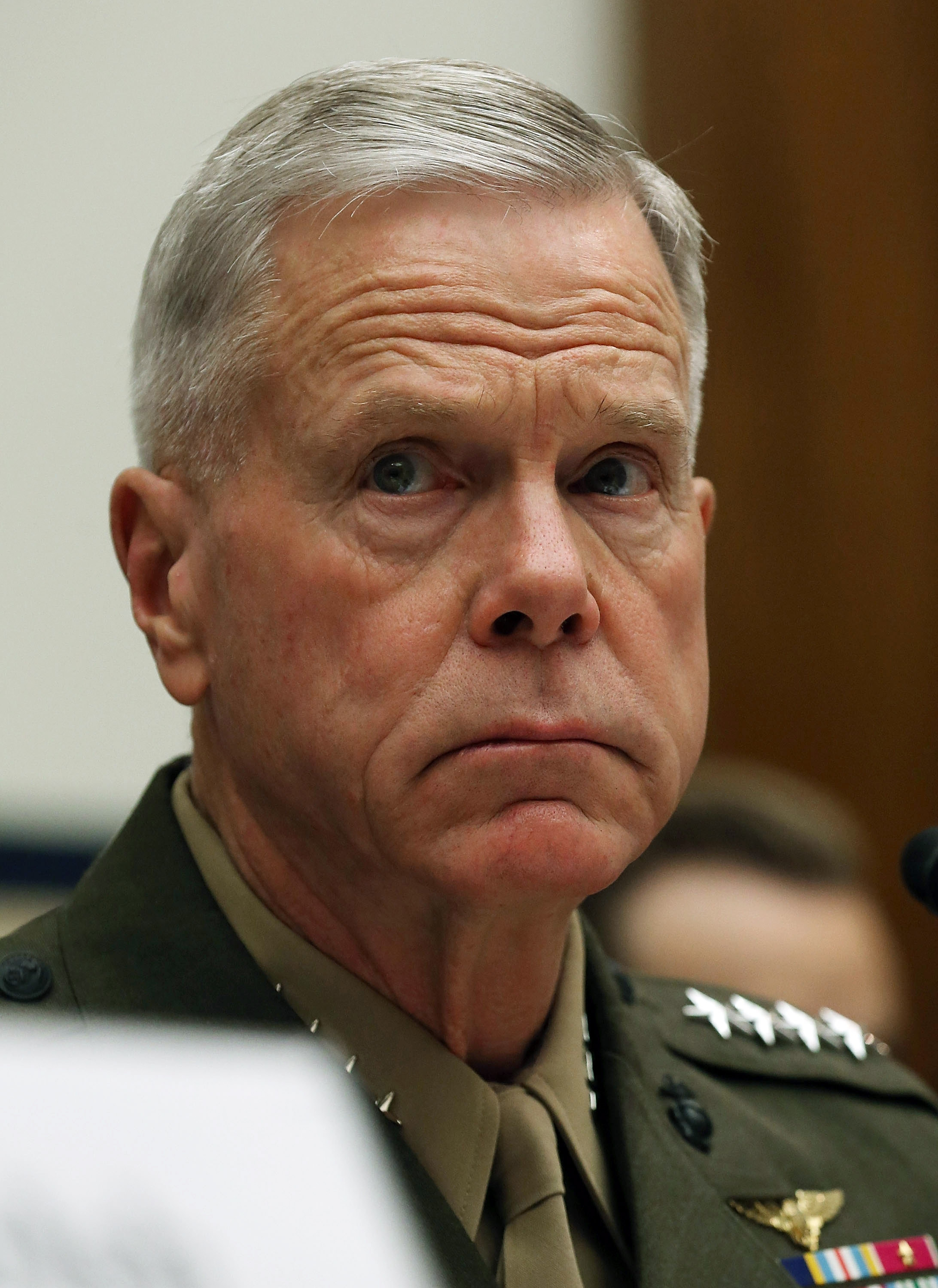 Marine Corps Commandant Gen. James Amos expected more of his generals.