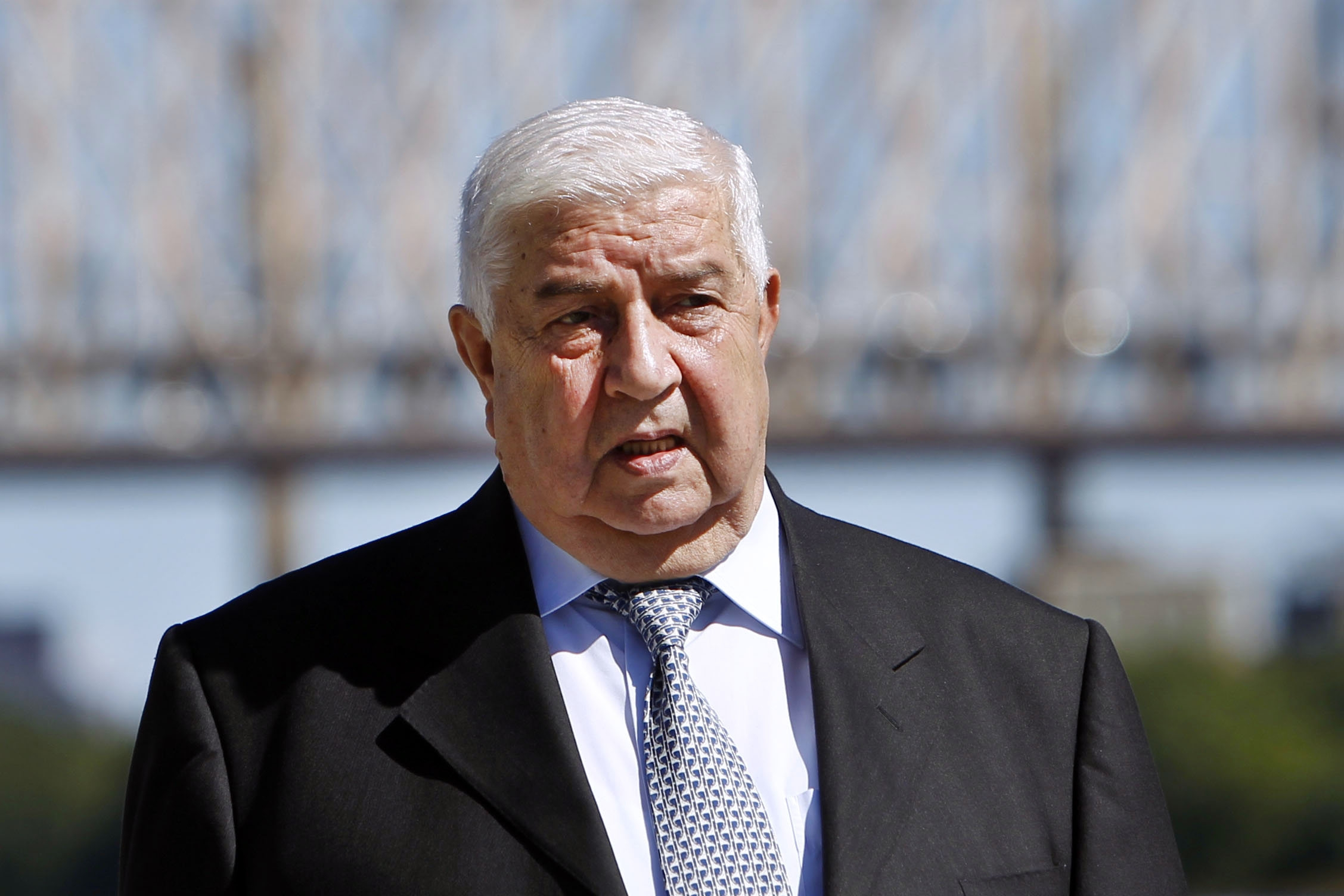 Walid al-Moallem, foreign minister of Syria, vows to cooperate with inspectors amid effort to crush revolt.