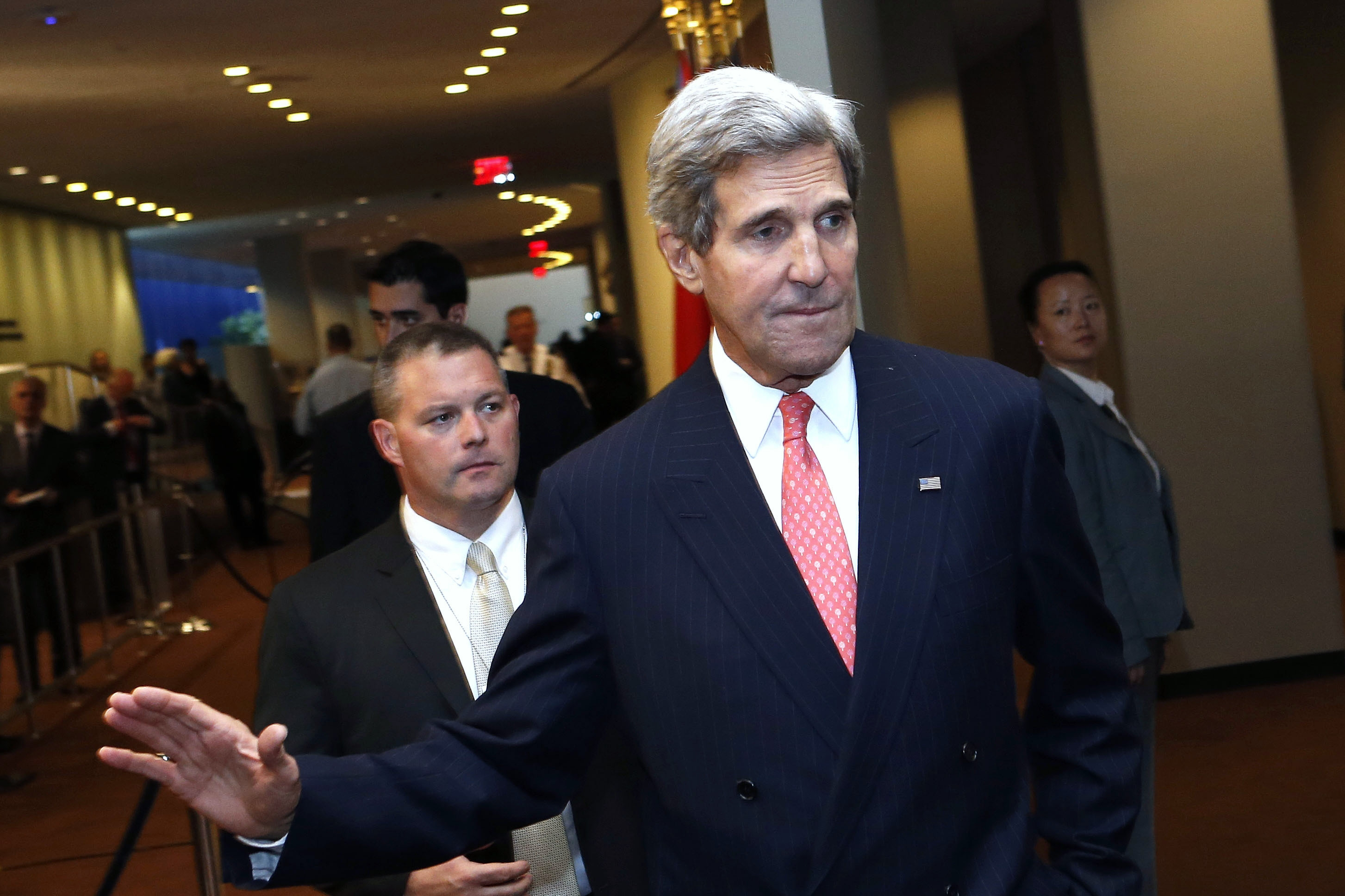 Secretary of State John Kerry is pleased with how Iran talks are going.