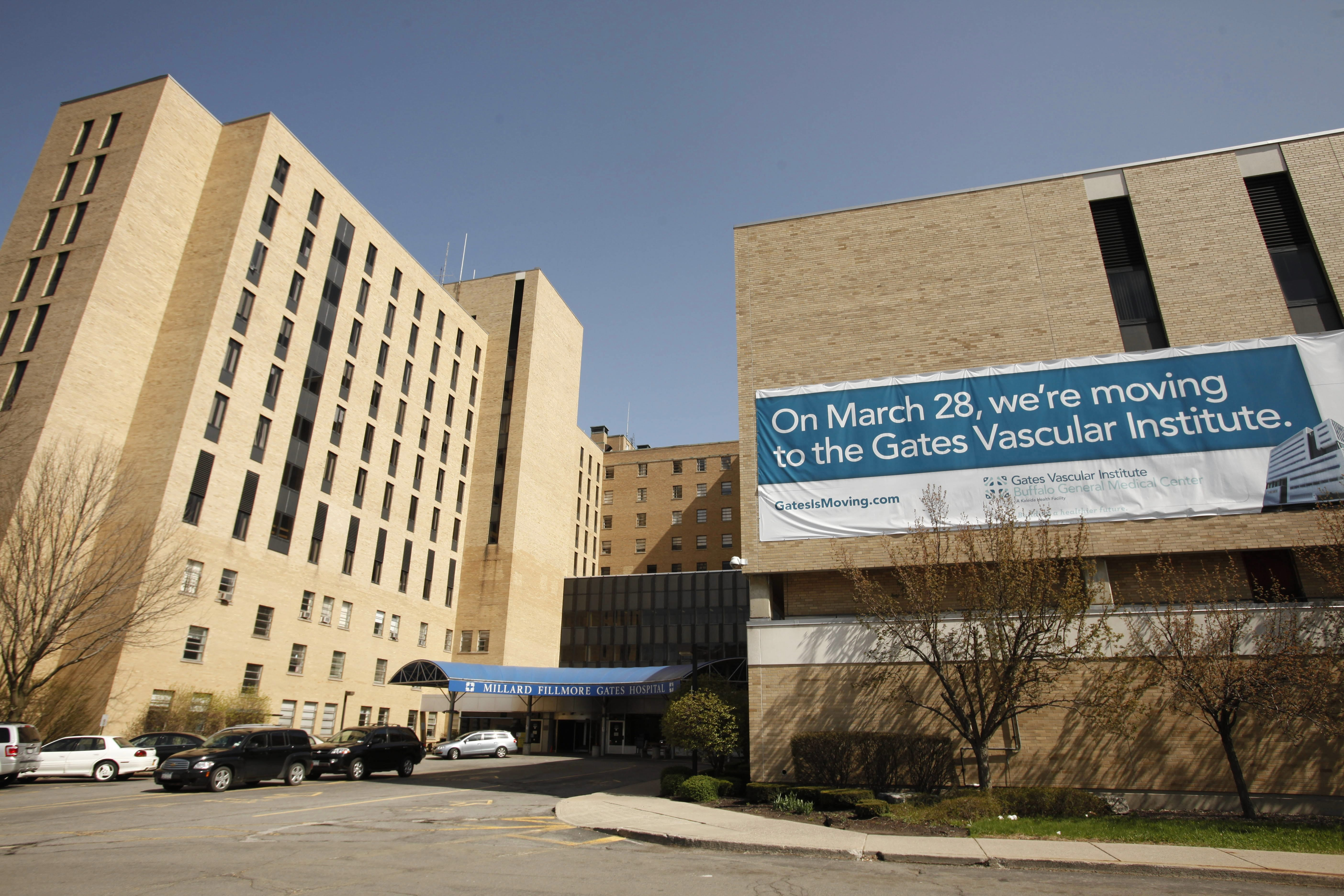Three proposals have been submitted to reuse Millard Fillmore Gates Circle Hospital. {Derek Gee / Buffalo News file photo}