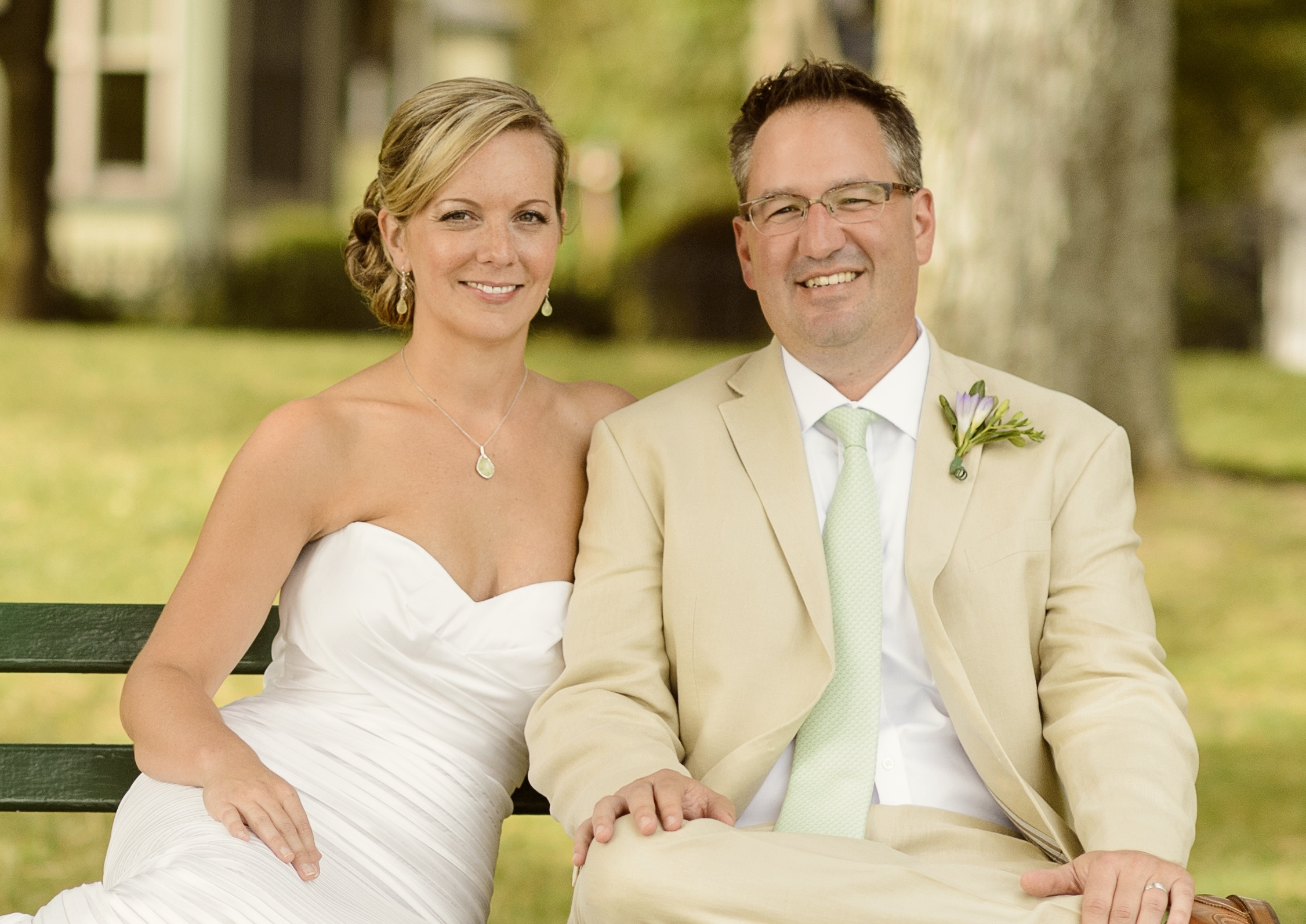 Sarah E. Talbot and Eric J. Nalbach are wed in Skaneateles