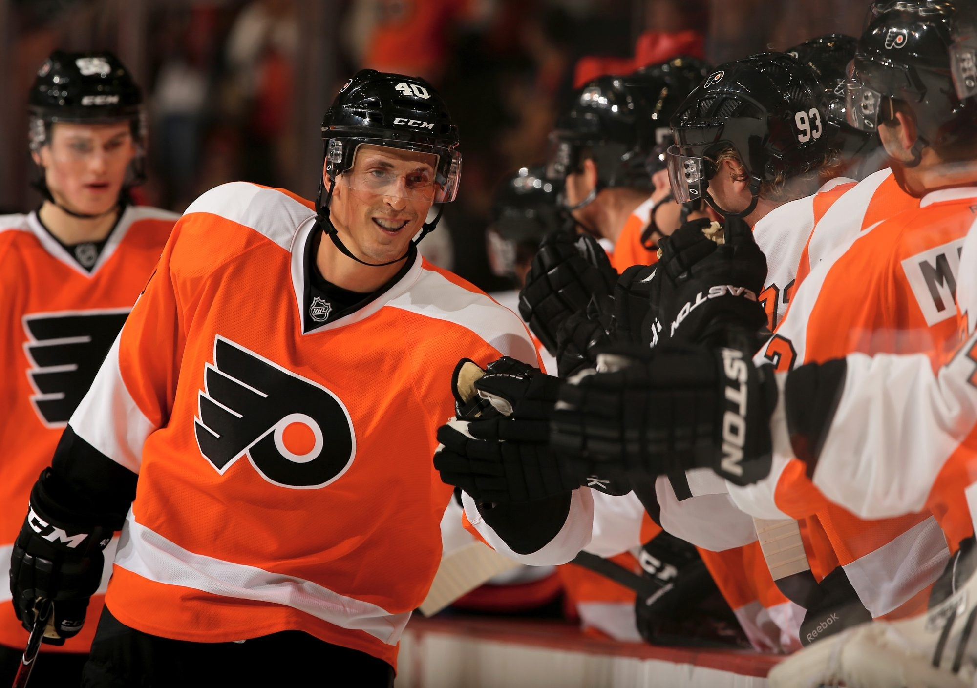 The addition of Vincent Lecavalier gives the Philadelphia Flyers four very good centers, as Philly is more about talent than toughness these days.