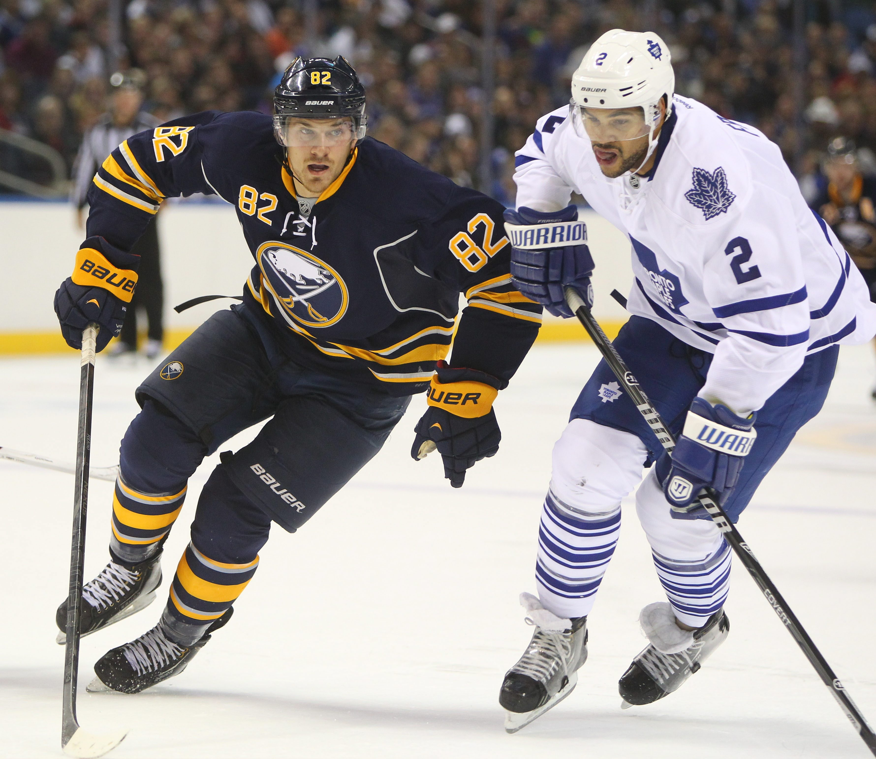 Marcus Foligno should be ready for Wednesday's opener at Detroit.