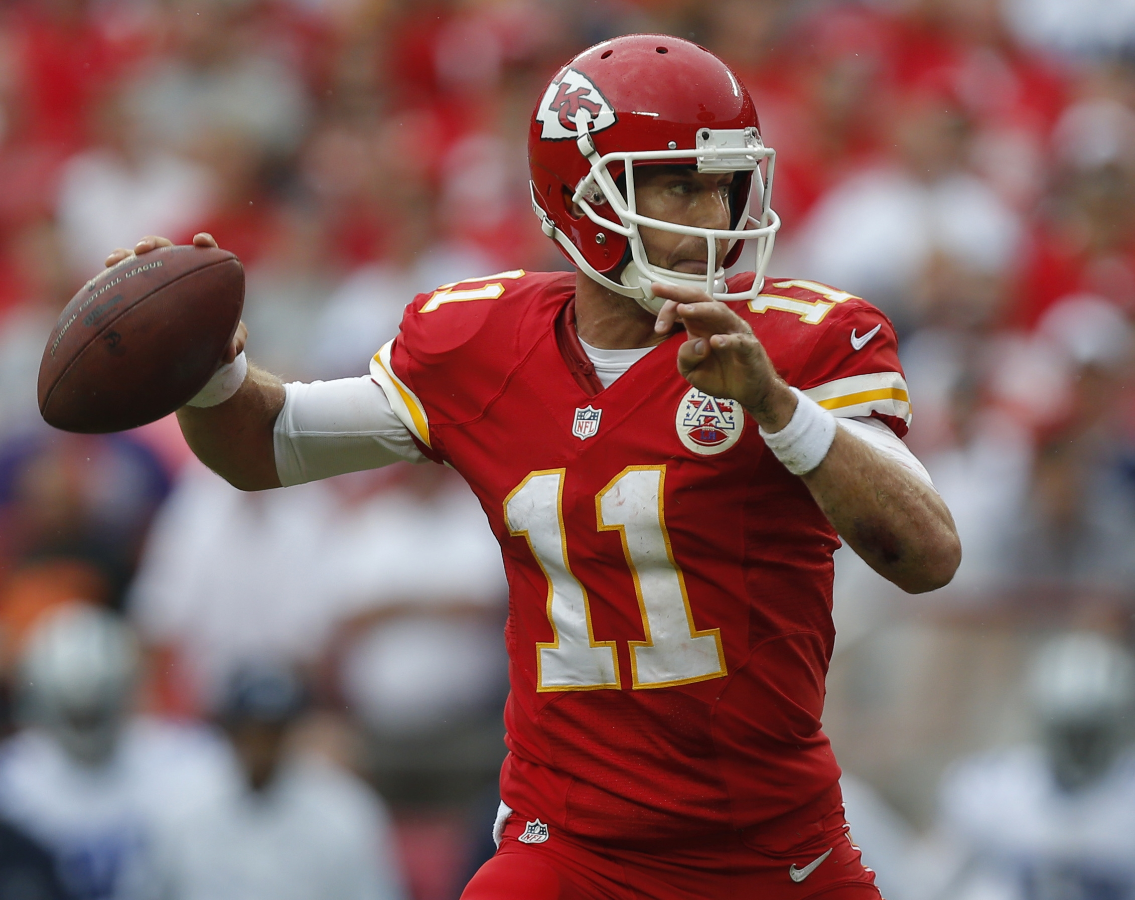 Alex Smith and the Chiefs have looked like contenders through the first three weeks of the season.