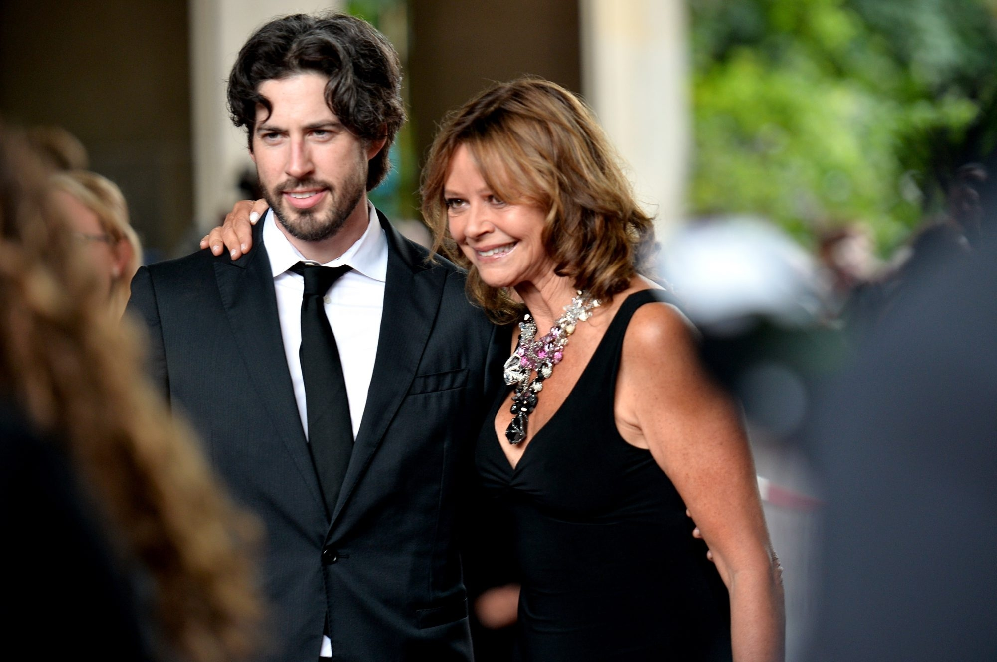 """Joyce Maynard and Jason Reitman attend the premiere of """"Labor Day,"""" the movie he directed based on her book, at the 2013 Toronto International Film Festival."""