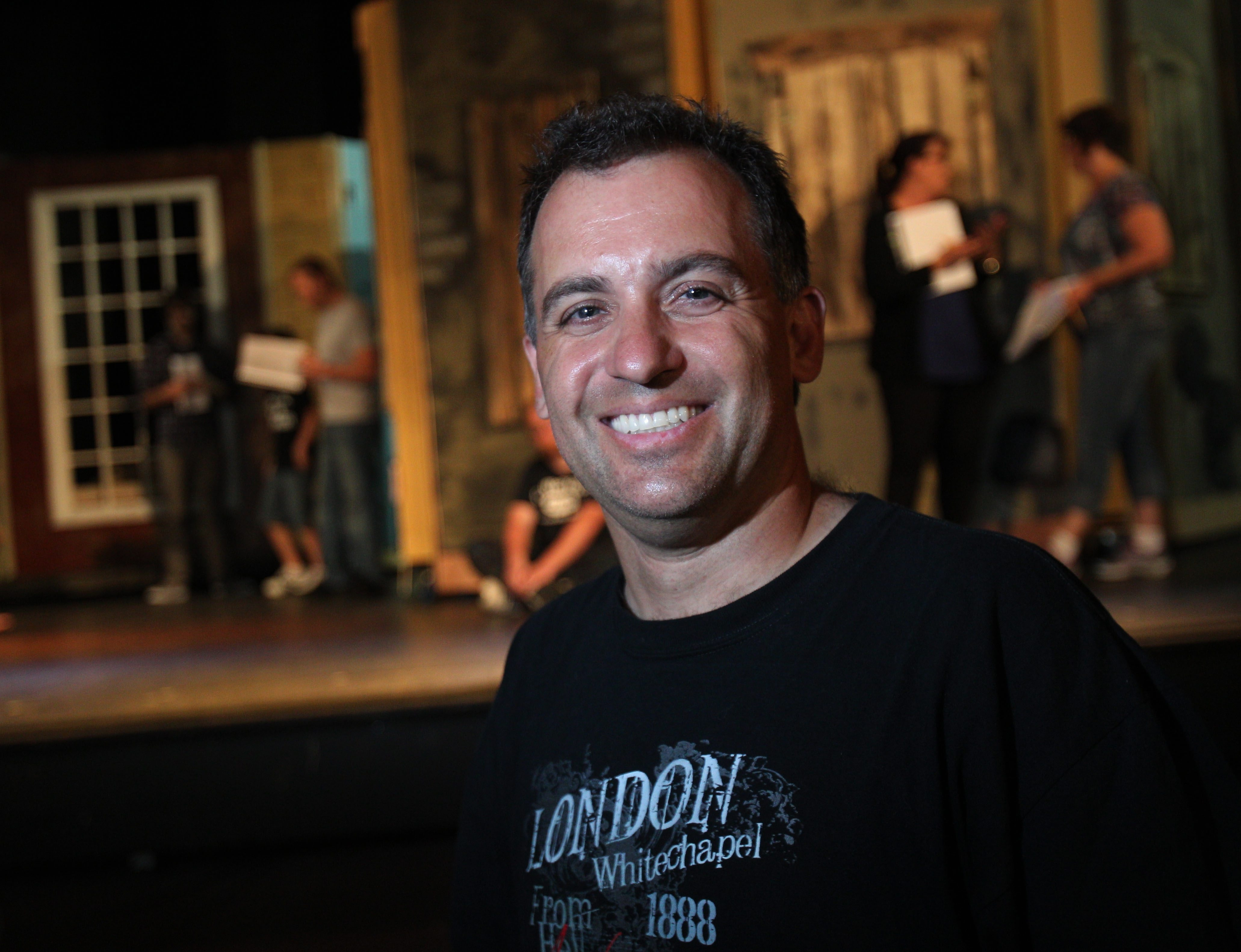 Jon May's first attempt as a playwright is based on the story of Jack the Ripper. He is also directing the Palace Theatre production of the play.