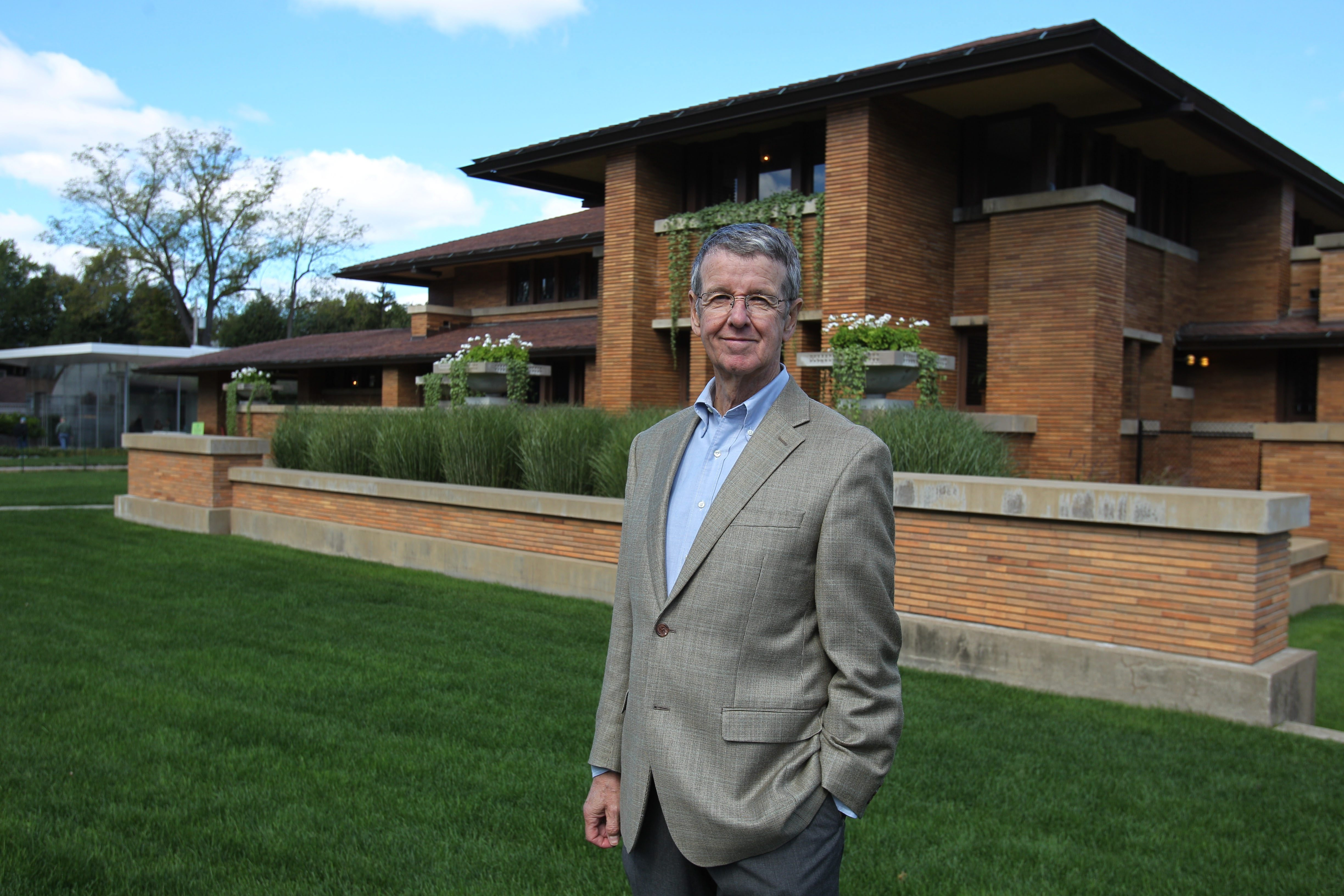Frank Lloyd Wright scholar Jack Quinan, a UB art historian who has written three books on the architect, opens a three-part lecture series on Wright and Modernism at 7 p.m. today in Martin House Complex's Greatbatch Pavilion.
