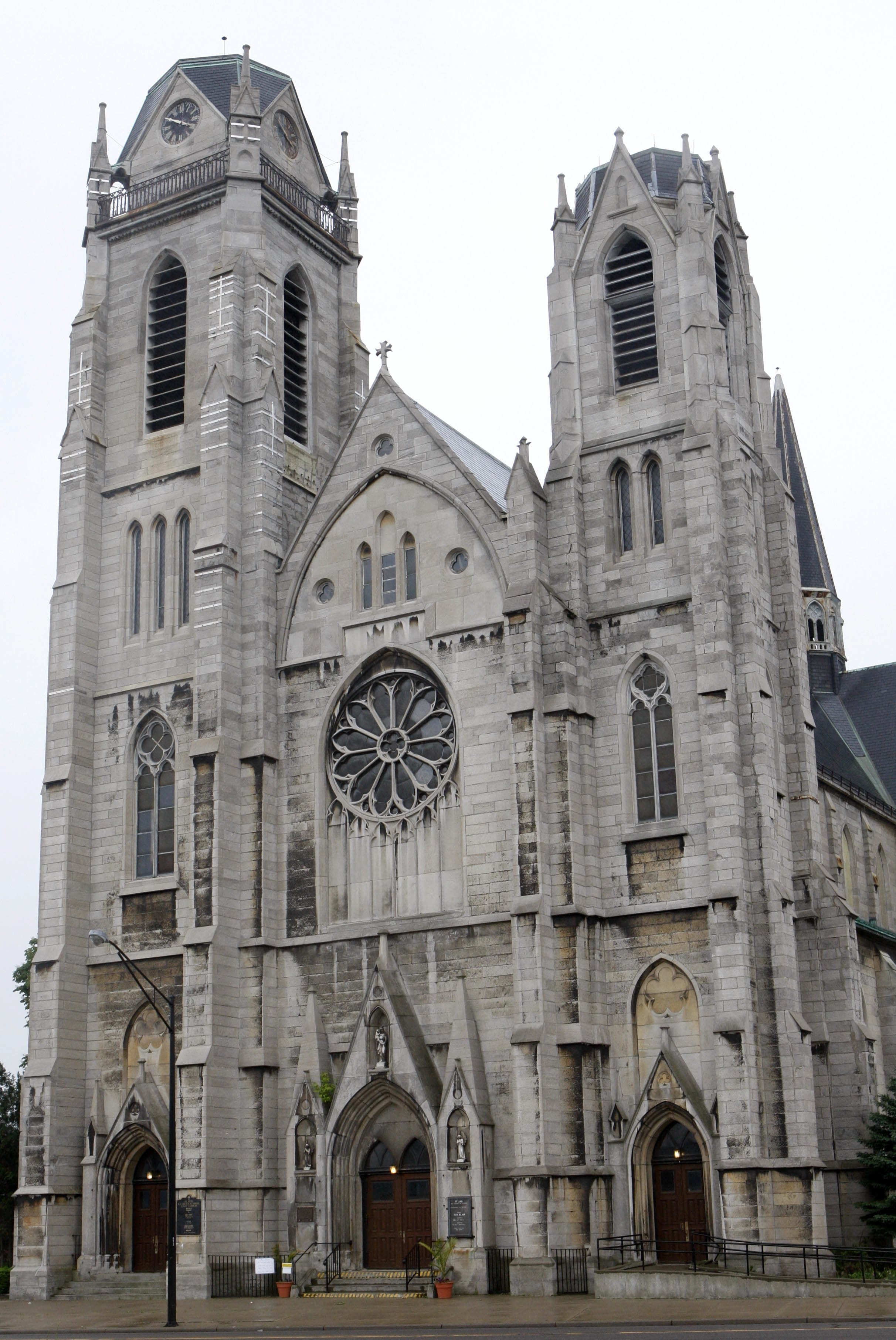 The Catholic Diocese of Buffalo says it would cost between $8 million and $12 million to save St. Ann Church and Shrine, on Broadway and Elmslie Street on Buffalo's East Side,