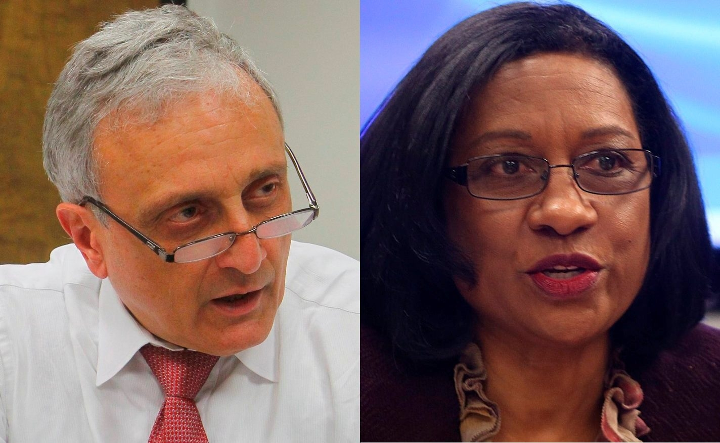 School Board Member Carl Paladino says the district doesn't have time for Superintendent Pamela Brown to train on the job, and he wants her out. Brown cites improvements in the district since she was appointed school chief in June 2012.