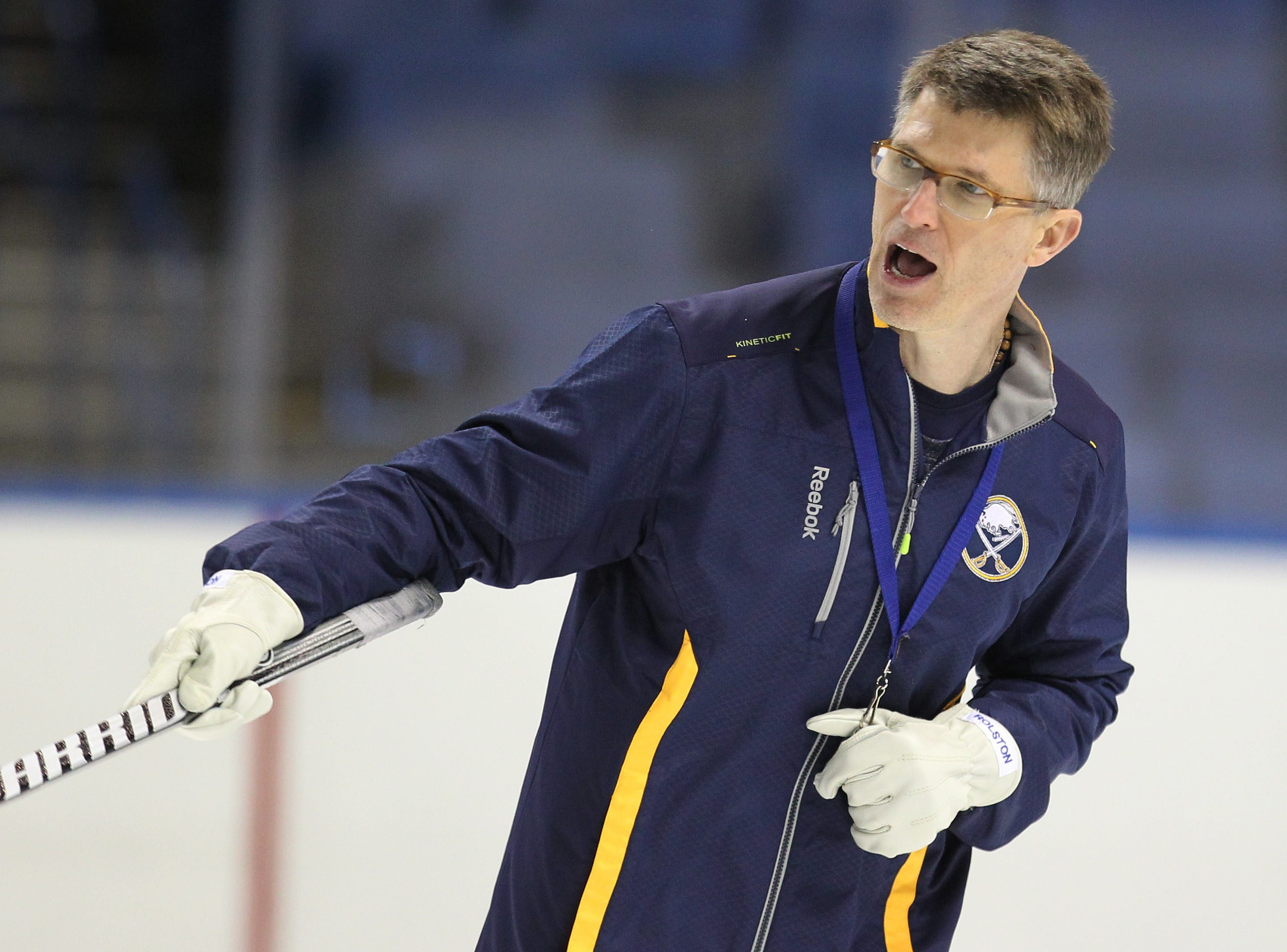 Sabres Coach Ron Rolston is believed to be facing a $10,000 fine.
