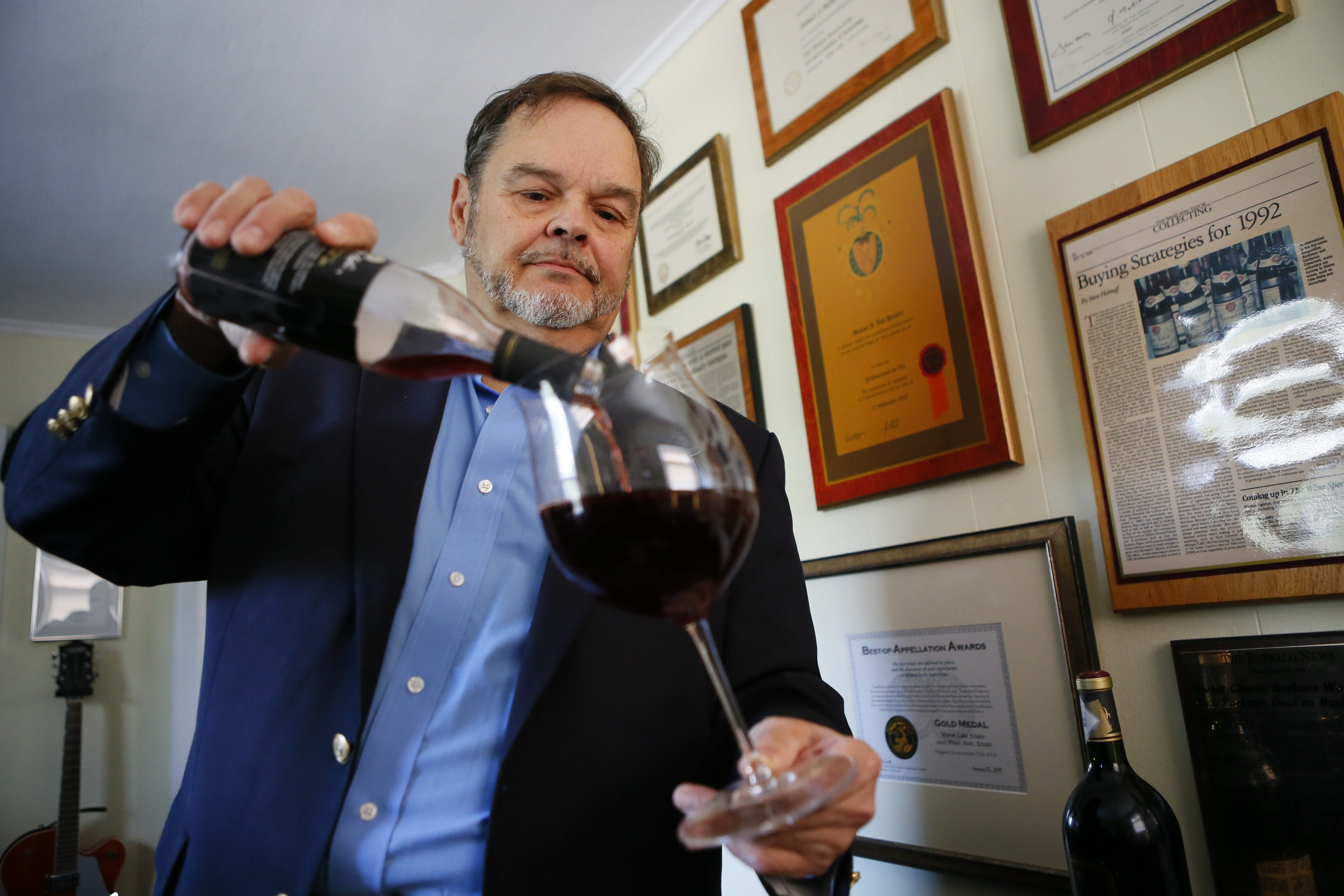"""""""There's a lot more money in engineering than there is in wine, trust me. No one wants to touch electrical. Everybody wants to drink a glass of wine and be an expert."""" – Michael J. VonHeckler"""