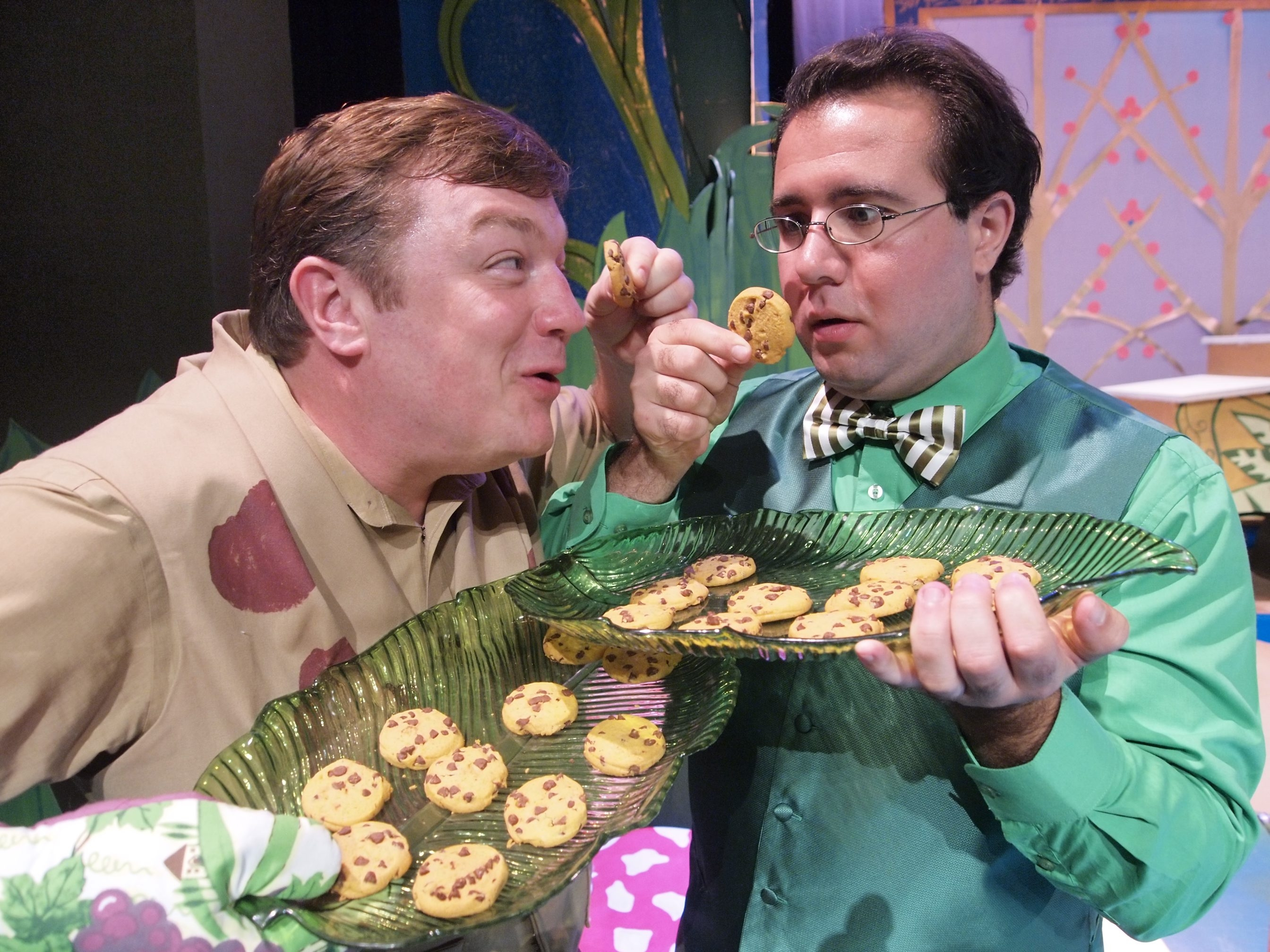 "Bobby Cooke and Jacob Albarella star in Theatre of Youth's production of ""A Year with Frog and Toad."""