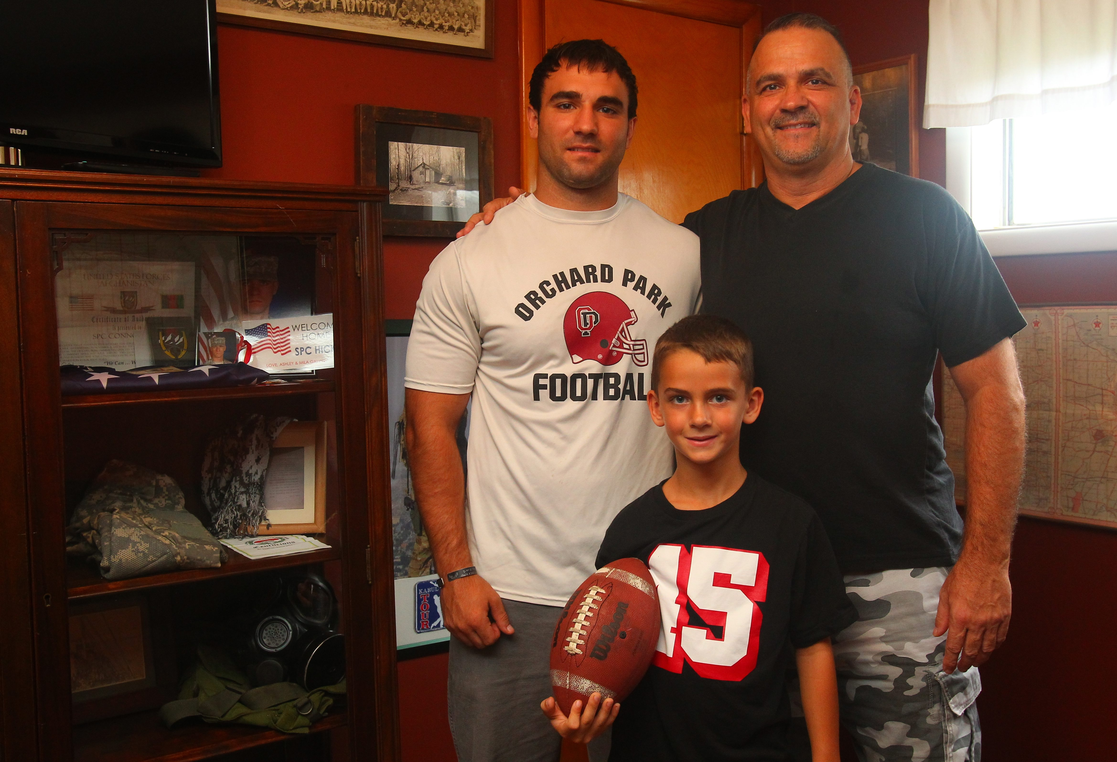 Dave Hicks was happy when his son Cameron played football. His youngest son, Mason,  may not get that chance.