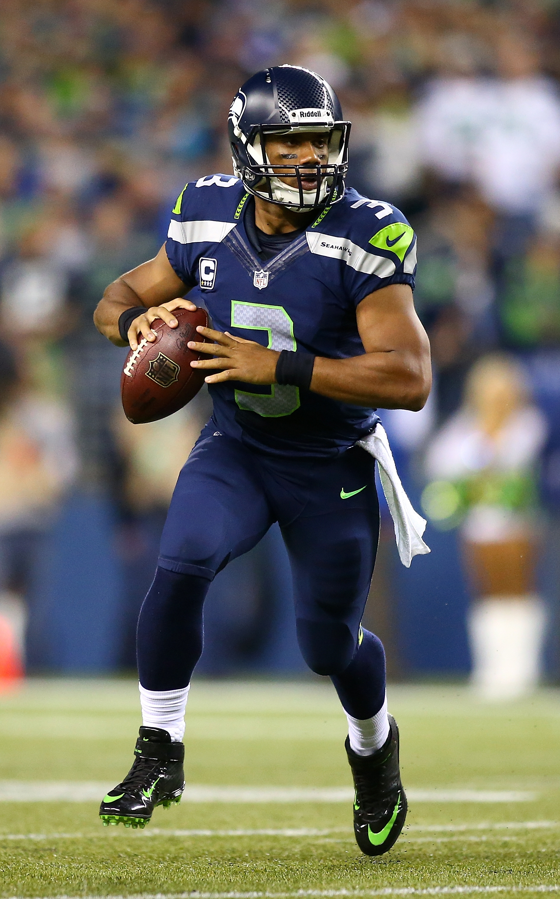 Russell Wilson and the Seahawks are huge home favorites over the Jaguars.