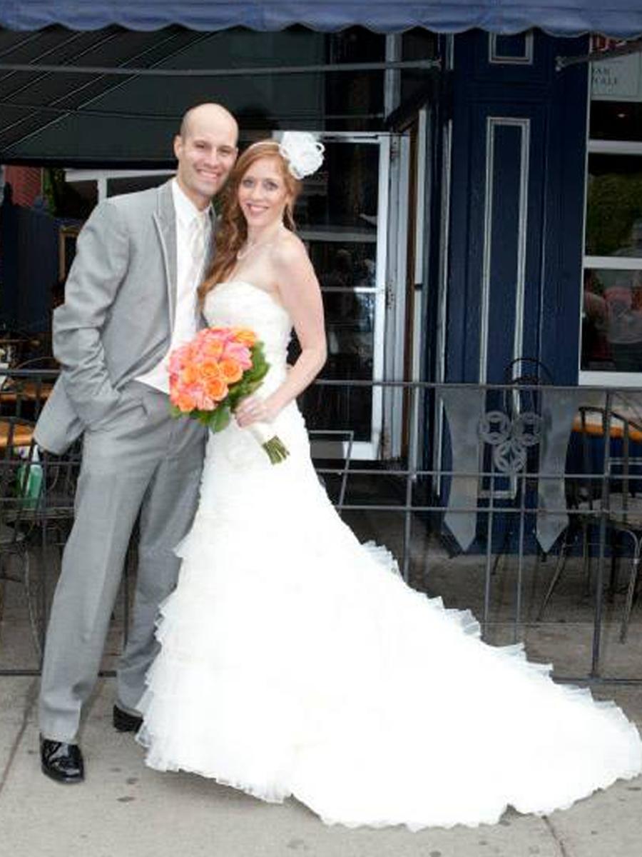 Emily Rose Keddie weds Adam Scott Olka in Buffalo