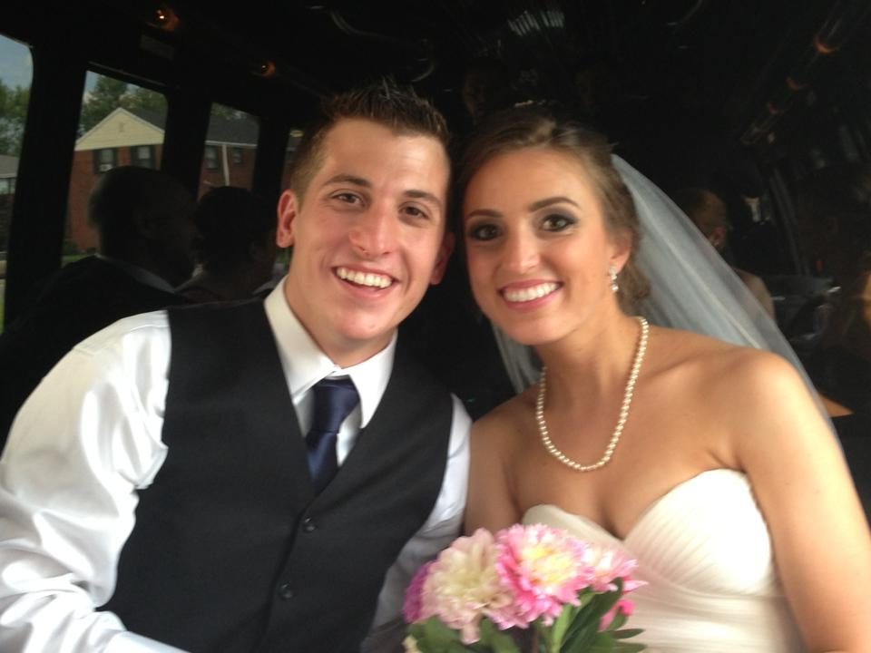 Brynn Jones and Jacob Latter are wed in Kenmore
