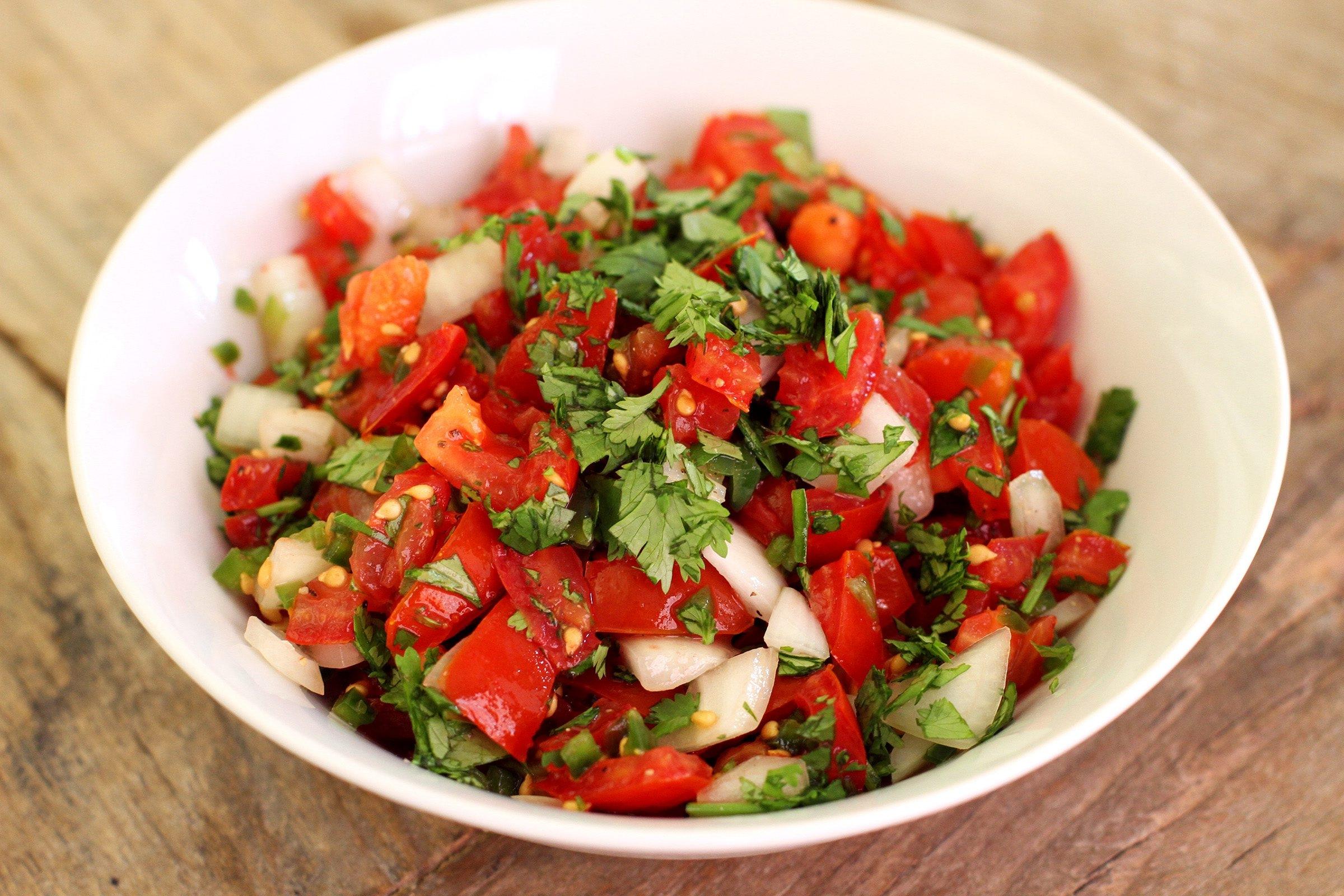Now's the time to make fresh, tasty pico de gallo
