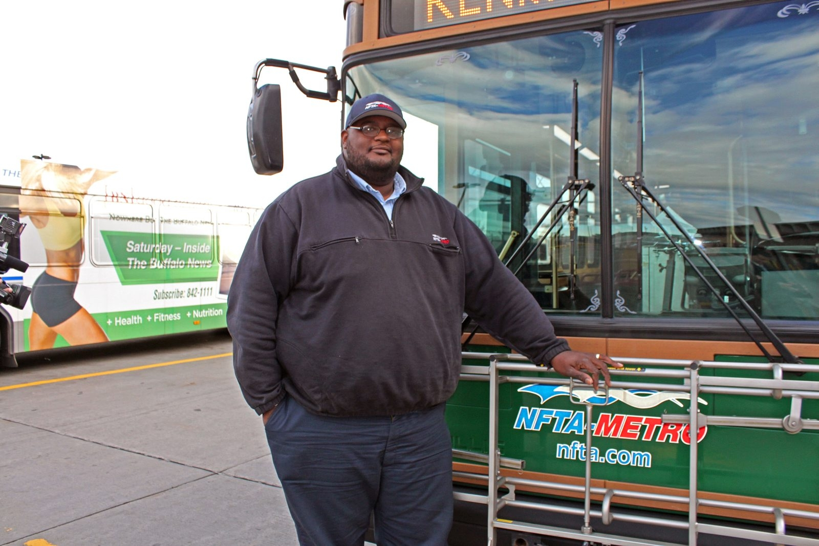 "NFTA Metro bus driver Darnell Barton says he ""didn't think it was real"" when he saw a young woman preparing to jump from an overpass on Elmwood Avenue earlier this month."