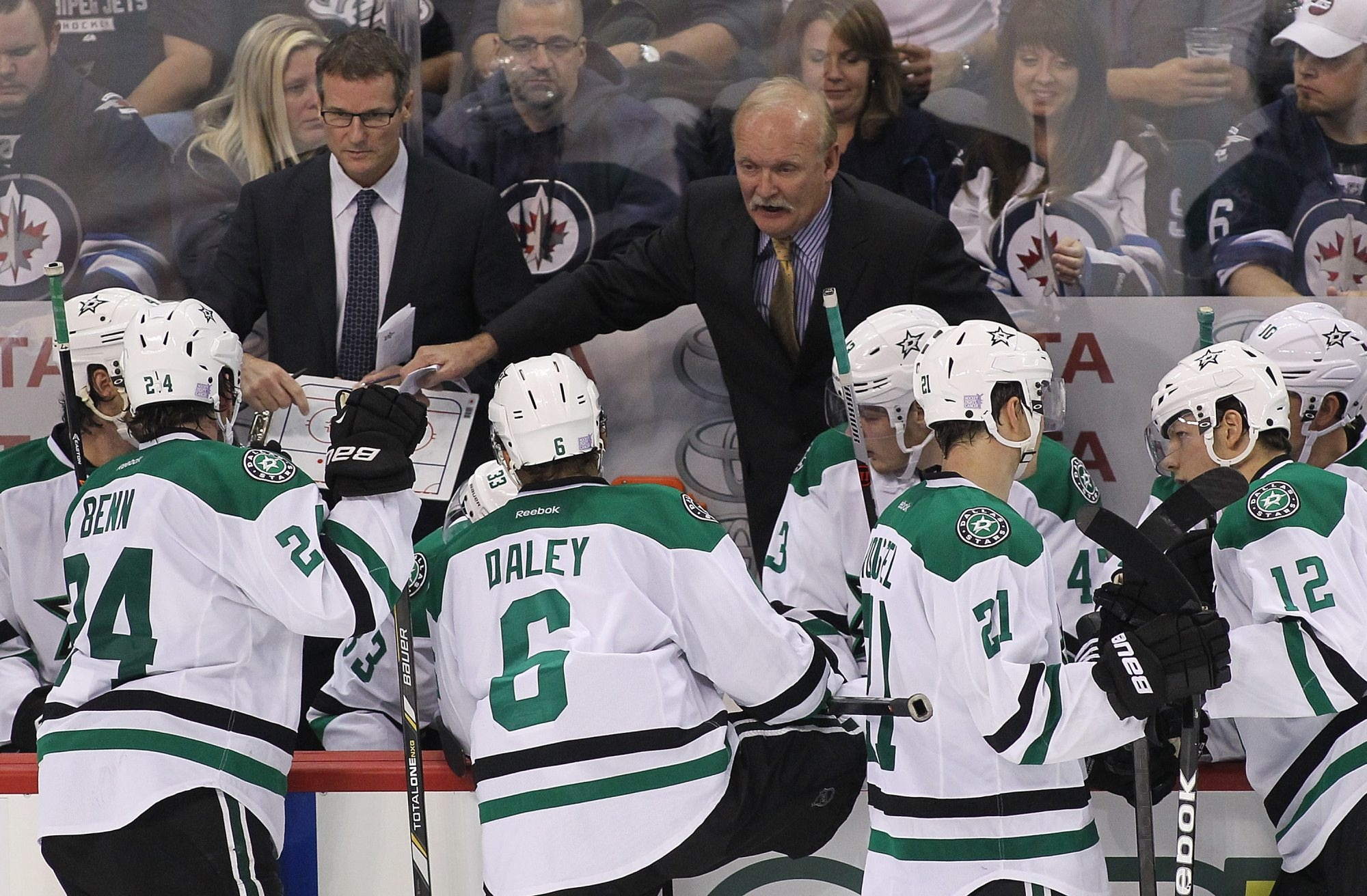 Former Sabres coach Lindy Ruff, now coach of the Dallas Stars, will make his first public appearance at First Niagara Center since his farewell news conference in February, two days after he was fired.